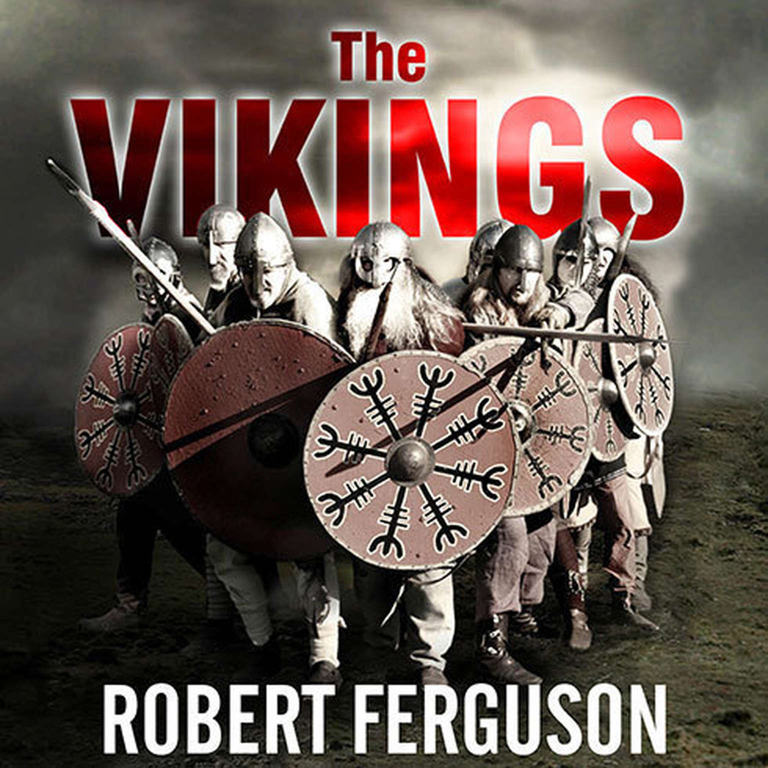 Printable The Vikings:  A History Audiobook Cover Art