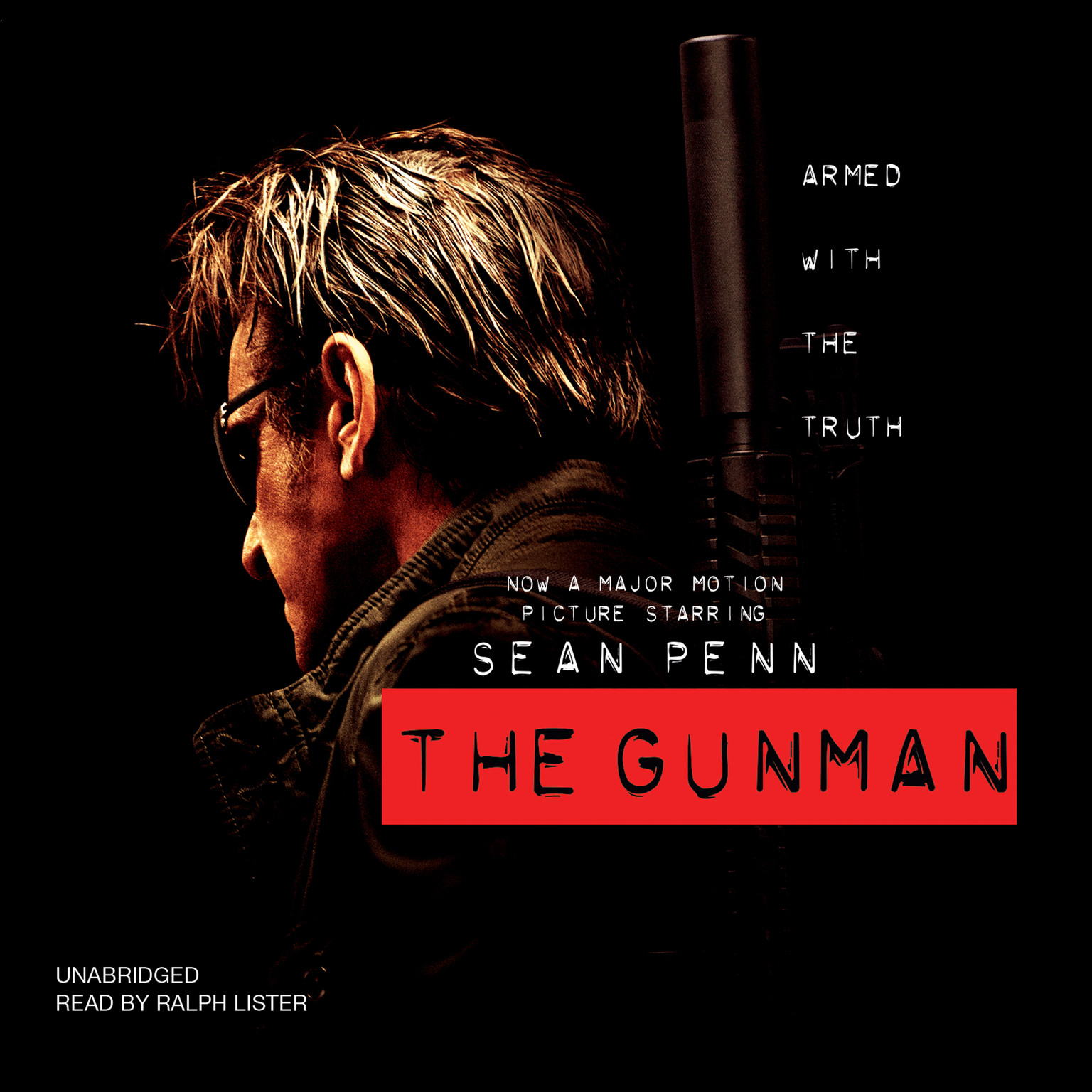 Printable The Gunman Audiobook Cover Art