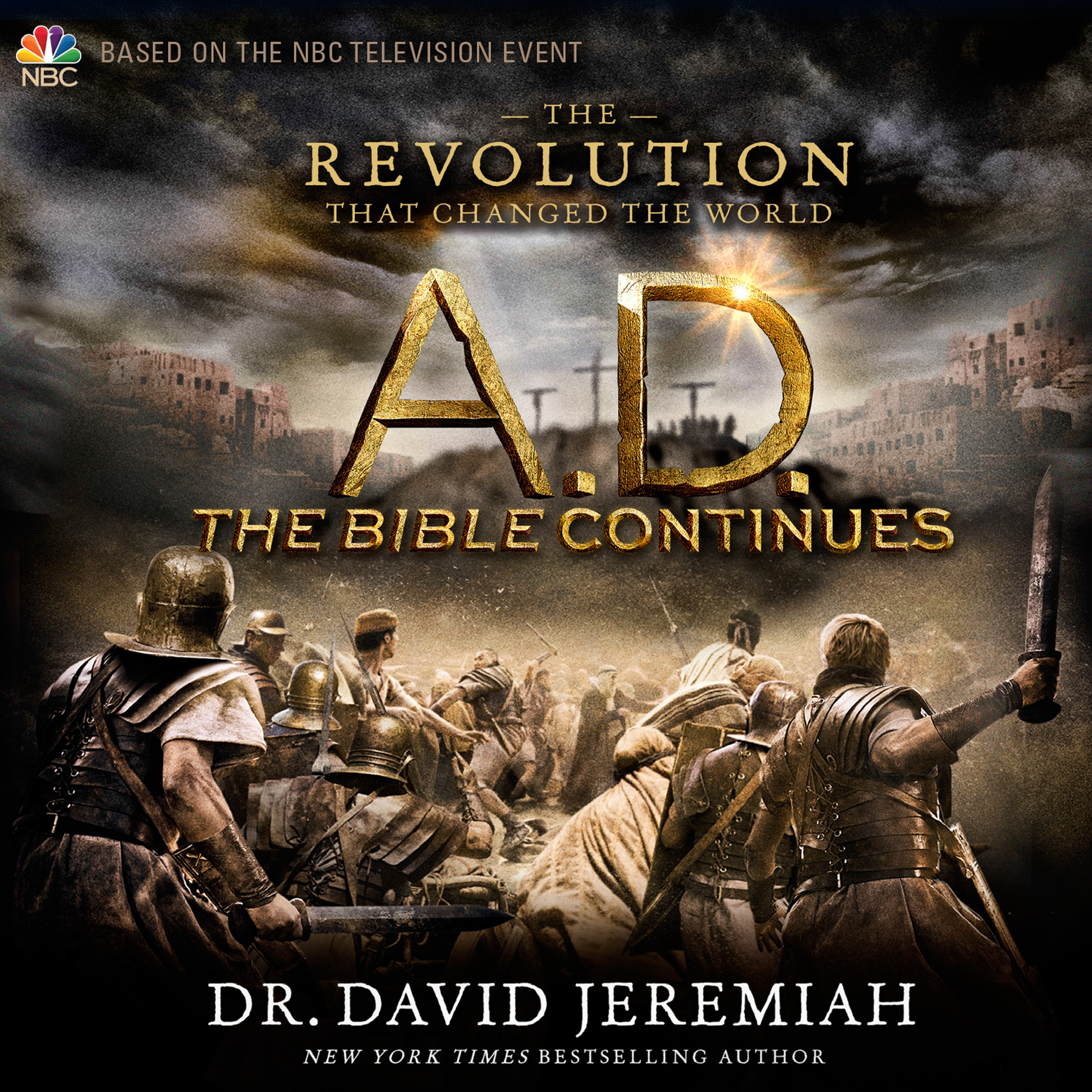 Printable AD: The Bible Continues: The Revolution That Changed the World Audiobook Cover Art