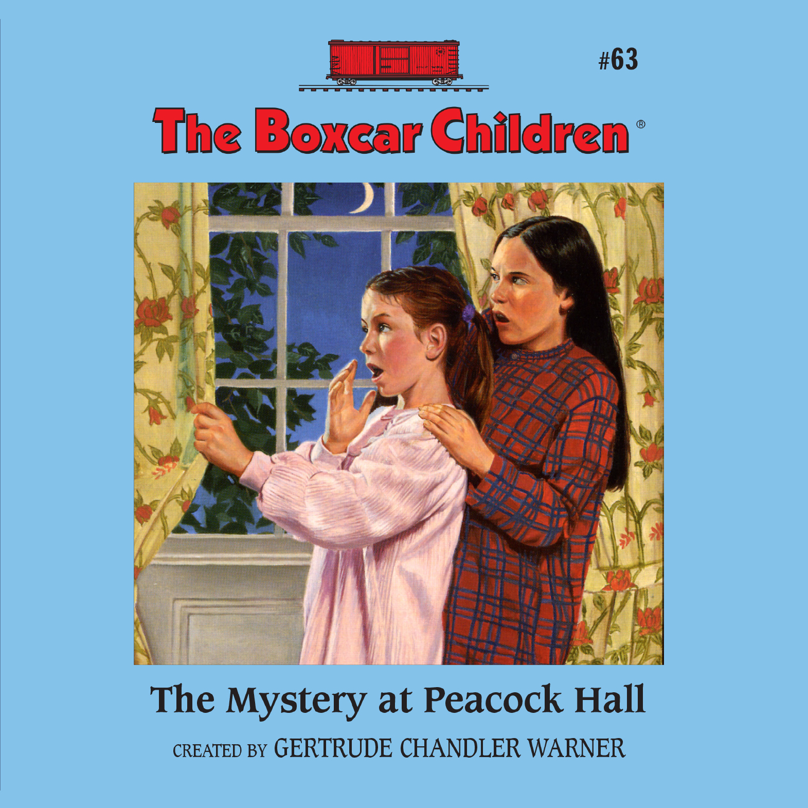 Printable The Mystery at Peacock Hall Audiobook Cover Art