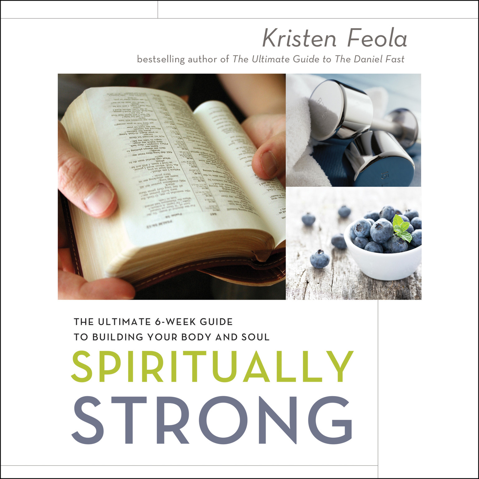 Printable Spiritually Strong: The Ultimate 6-Week Guide to Building Your Body and Soul Audiobook Cover Art