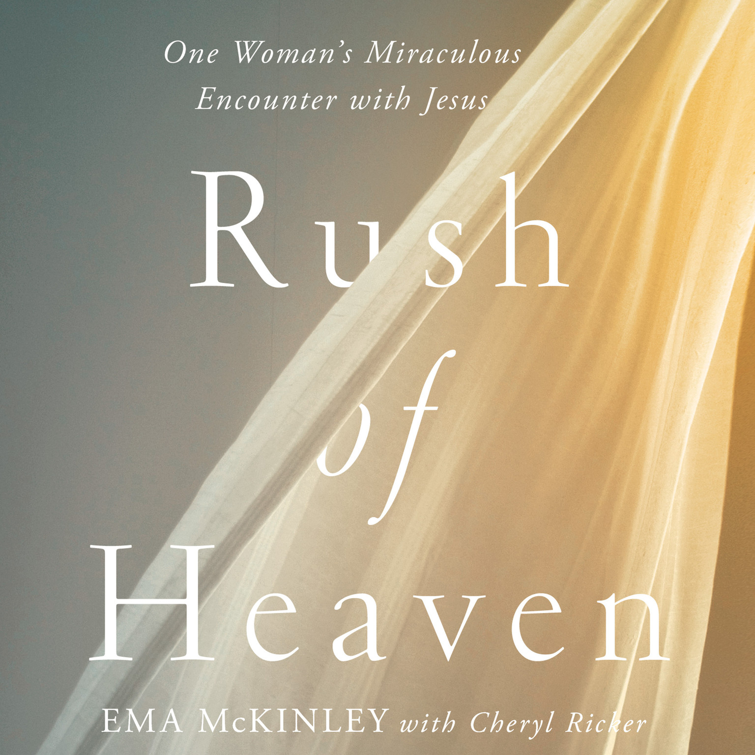 Printable Rush of Heaven: One Woman's Miraculous Encounter with Jesus Audiobook Cover Art