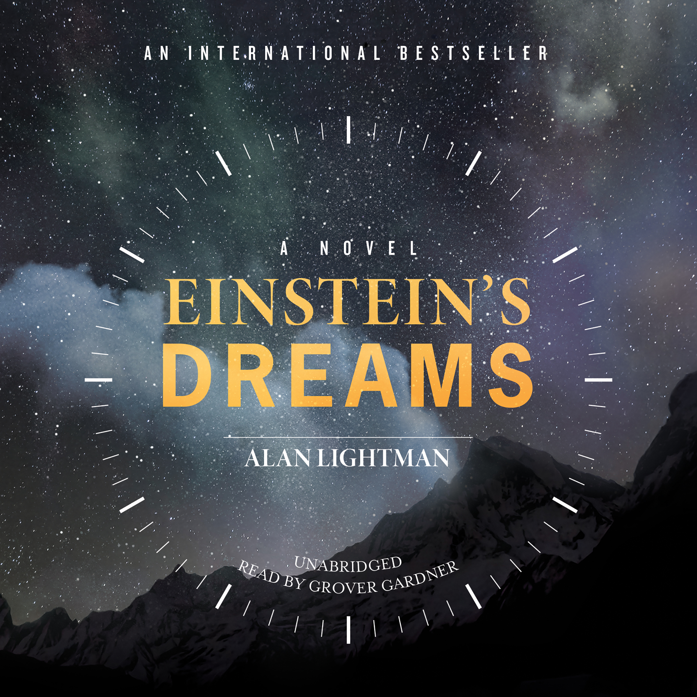 Printable Einstein's Dreams Audiobook Cover Art
