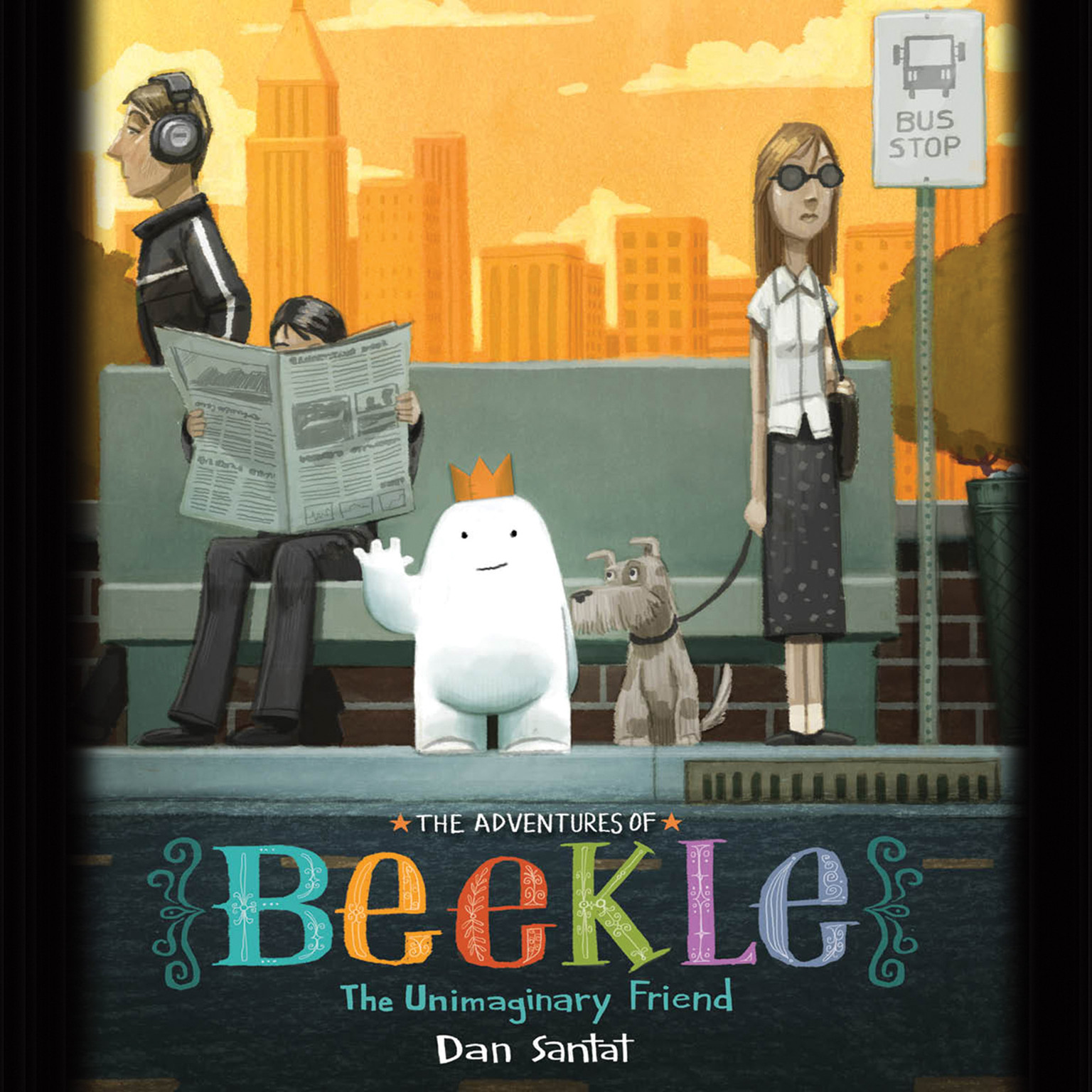 Printable The Adventures of Beekle: The Unimaginary Friend: The Unimaginary Friend Audiobook Cover Art