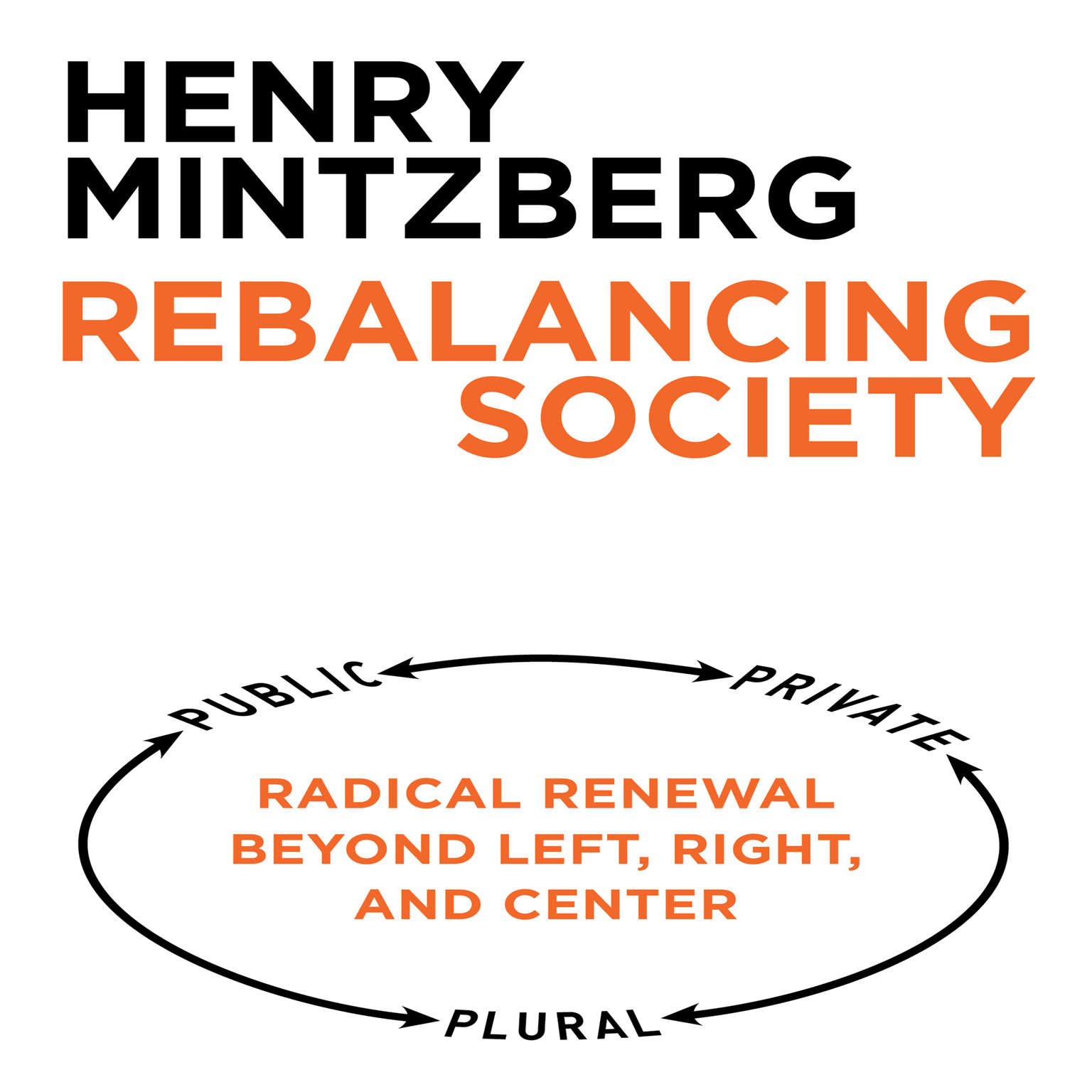 Printable Rebalancing Society: Radical Renewal Beyond Left, Right, and Center Audiobook Cover Art