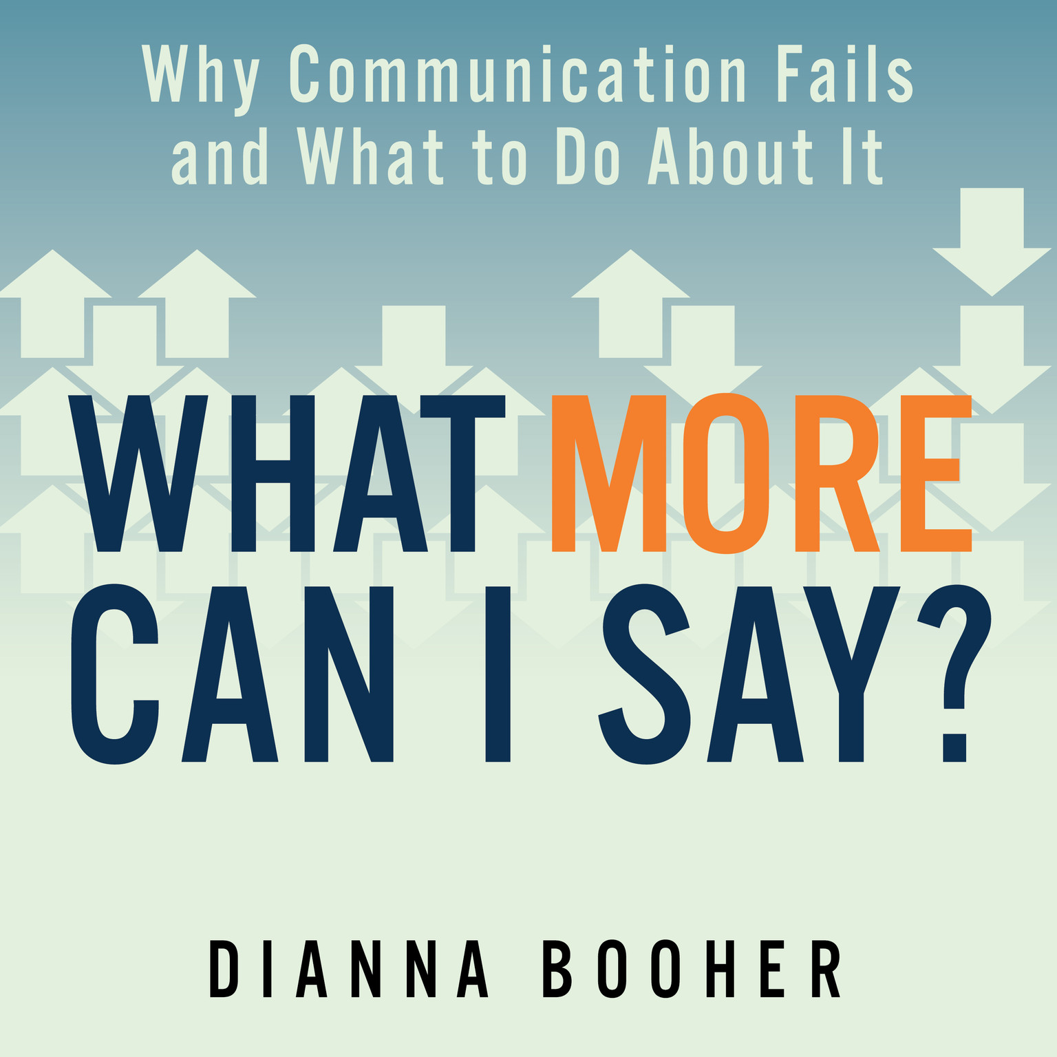 Printable What More Can I Say?: Why Communication Fails and What to Do About It Audiobook Cover Art