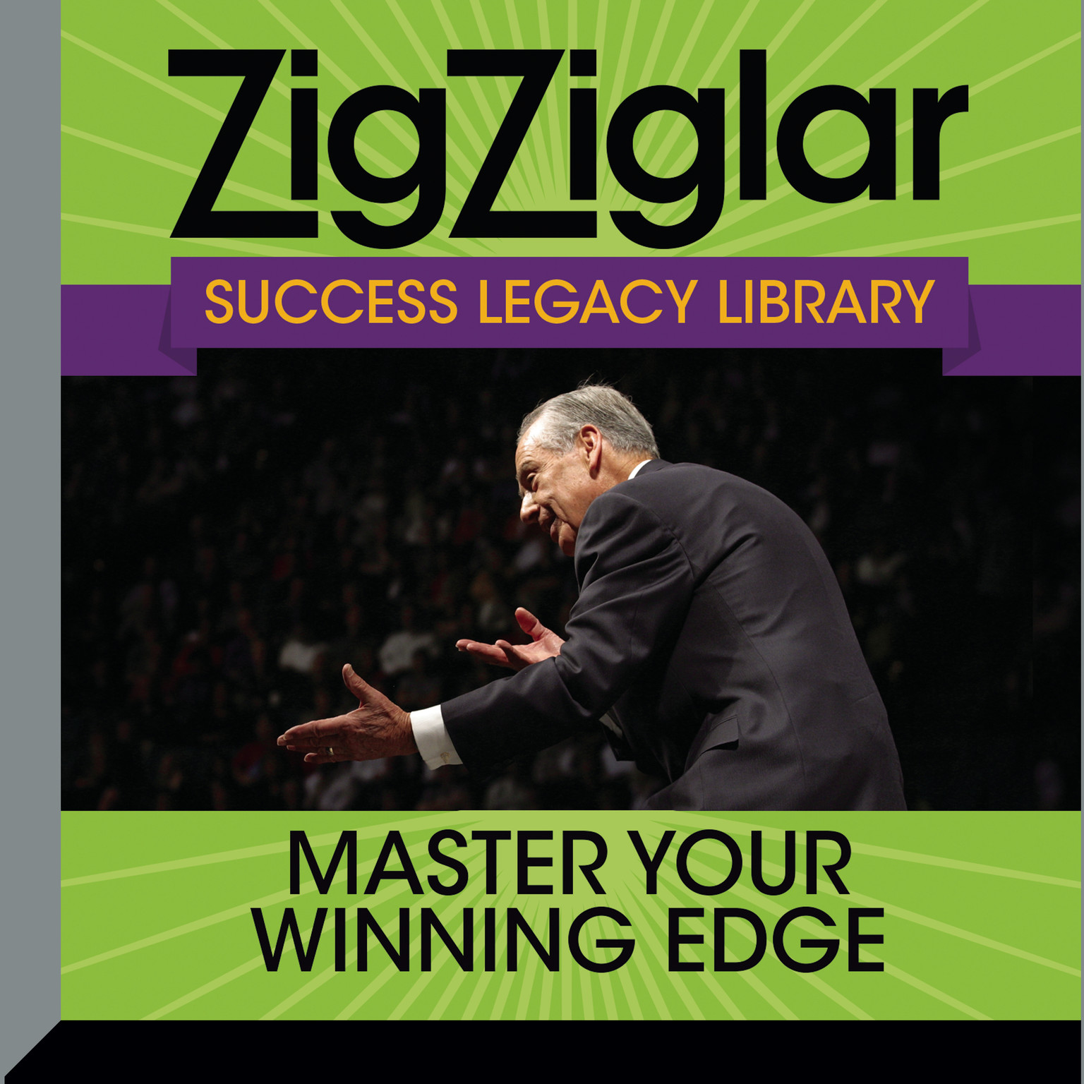 Printable Master Your Winning Edge: Zig Ziglar Success Legacy Library Audiobook Cover Art