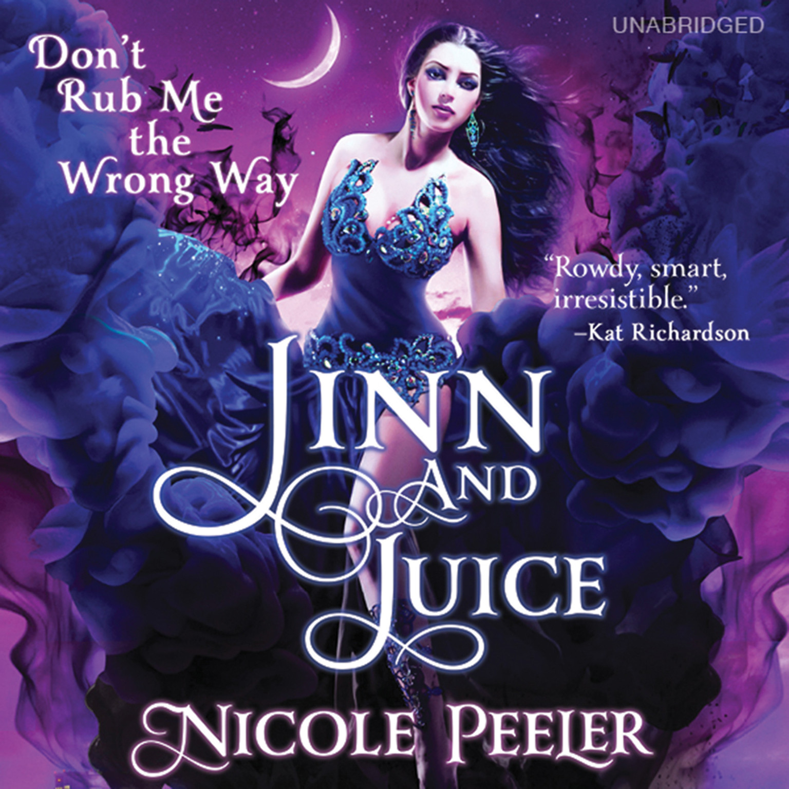 Printable Jinn and Juice Audiobook Cover Art