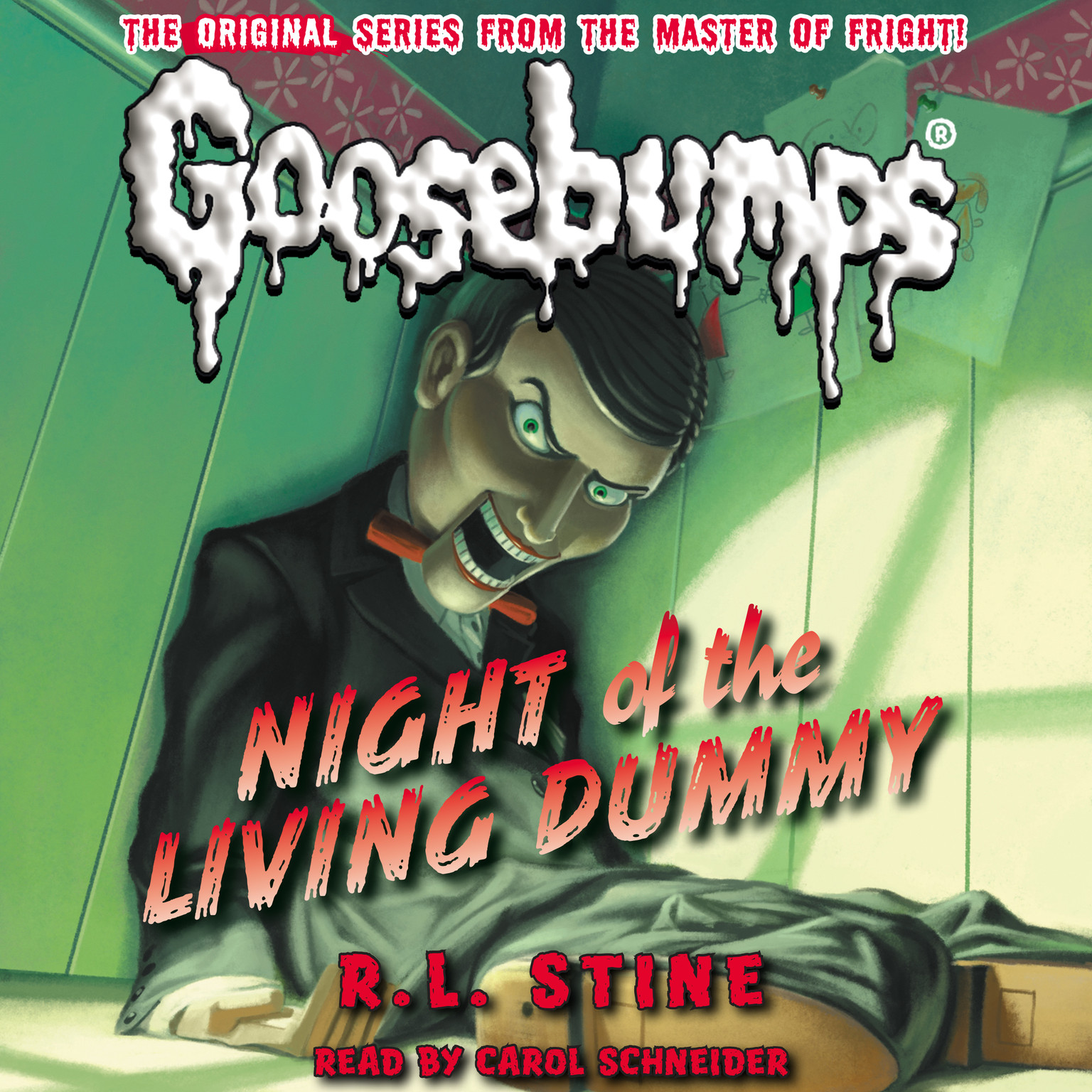 Printable Night of the Living Dummy Audiobook Cover Art