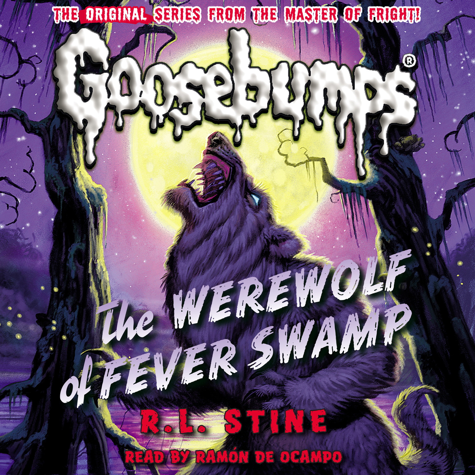 Printable The Werewolf of Fever Swamp Audiobook Cover Art