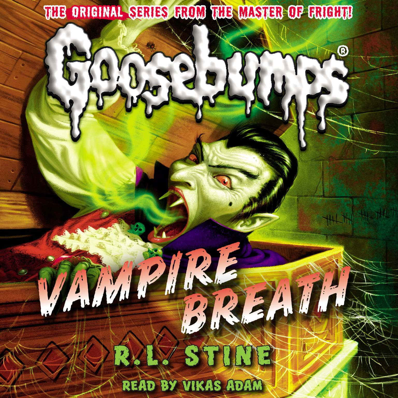 Printable Vampire Breath Audiobook Cover Art