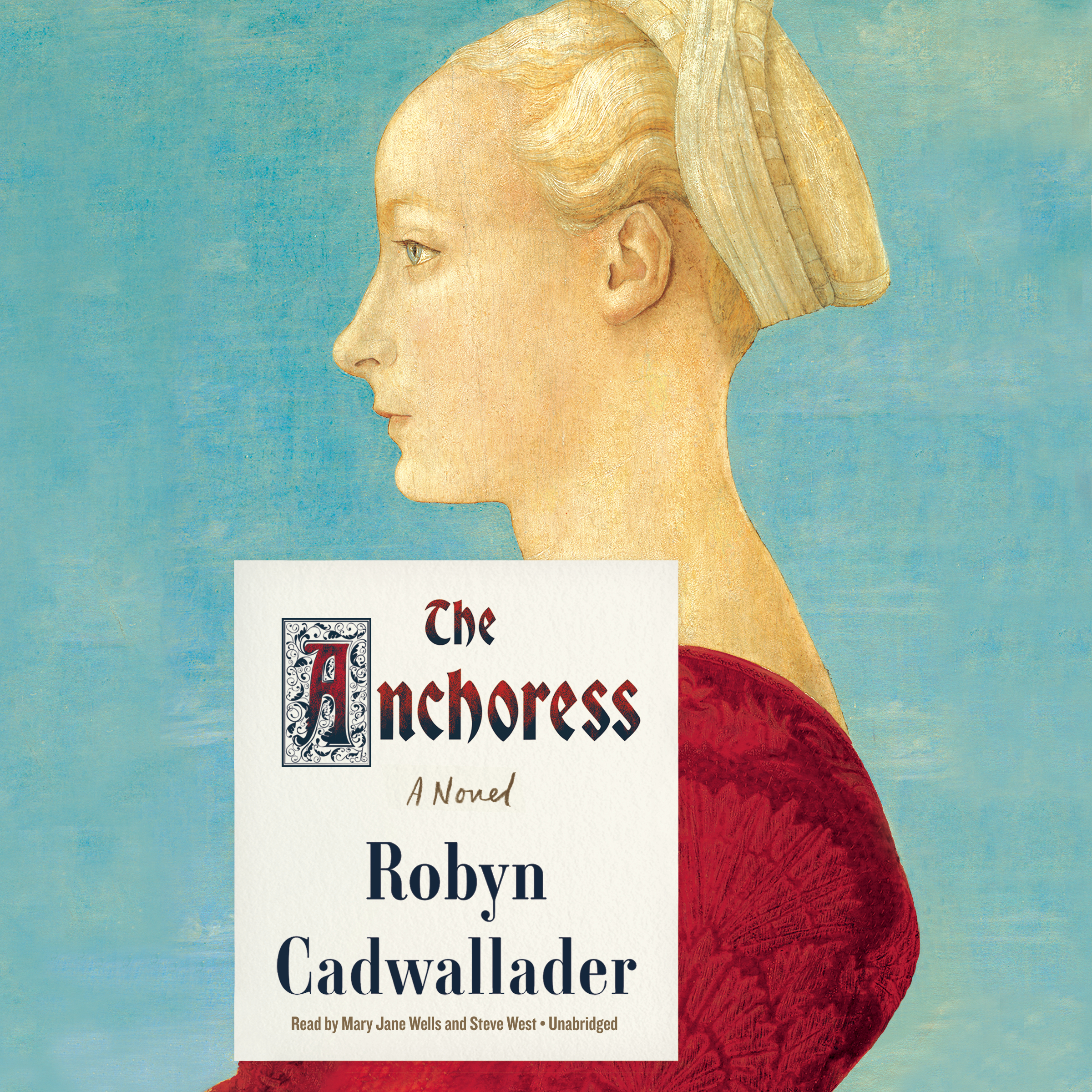 Printable The Anchoress Audiobook Cover Art