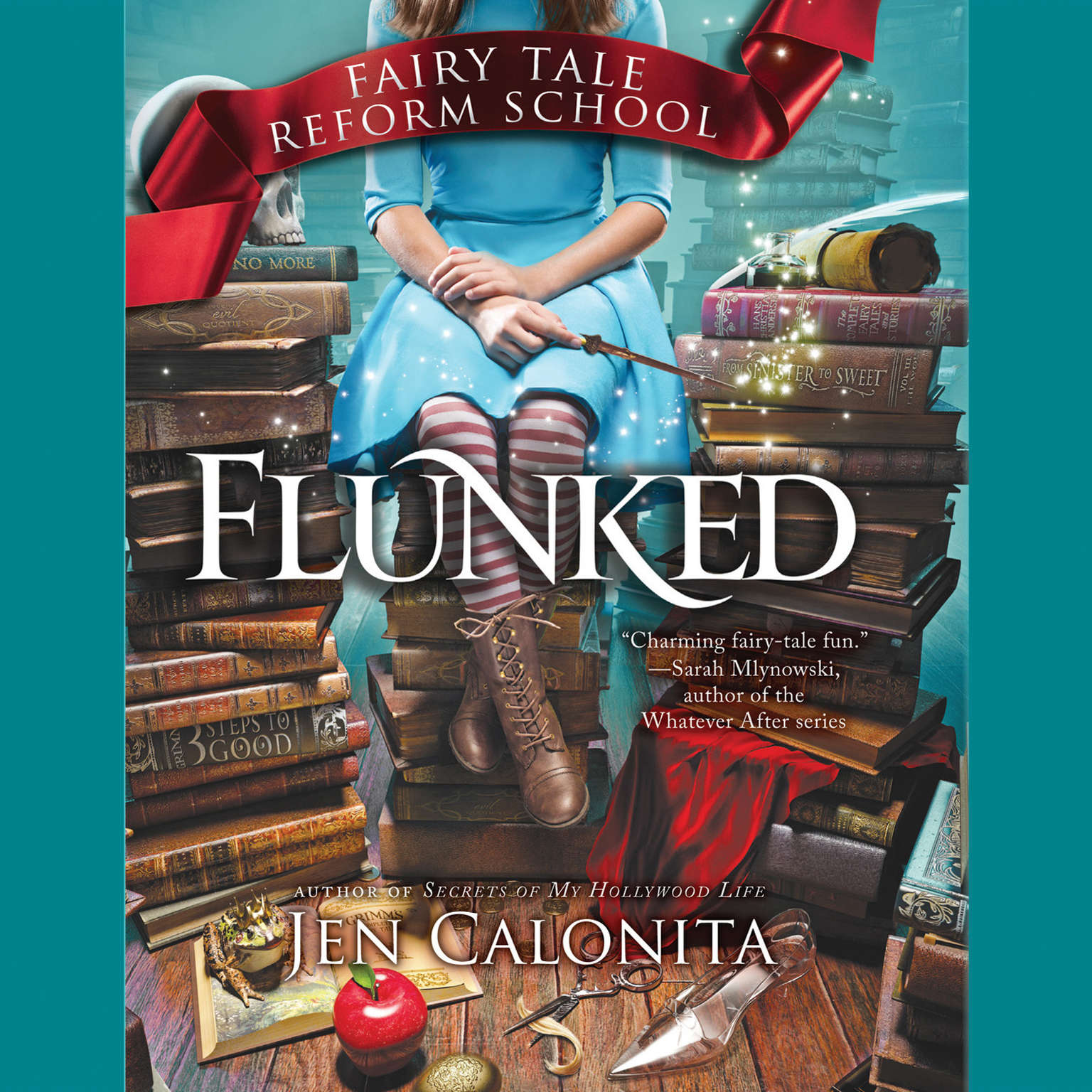 Printable Flunked Audiobook Cover Art
