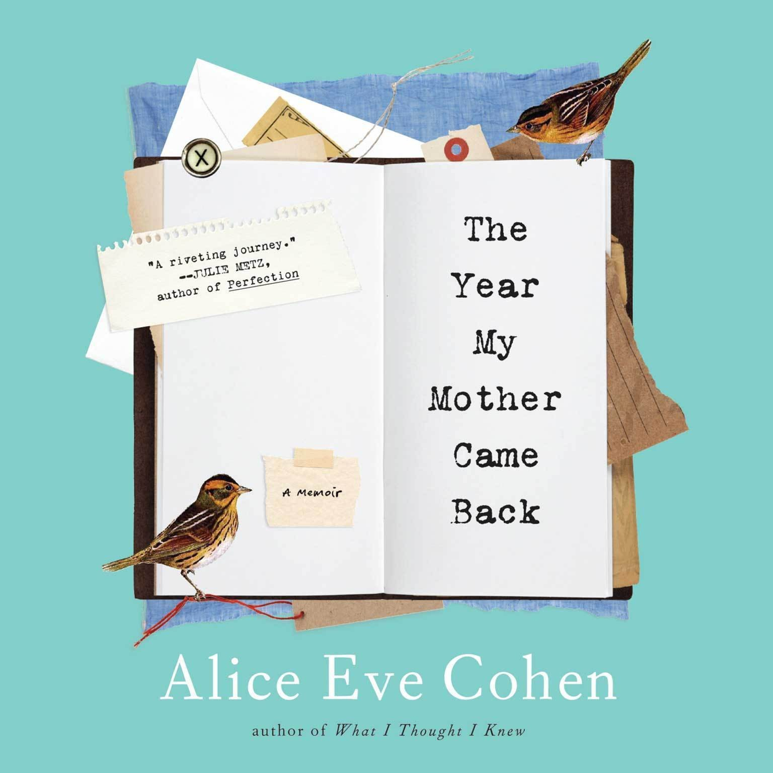 Printable The Year My Mother Came Back: A Memoir Audiobook Cover Art