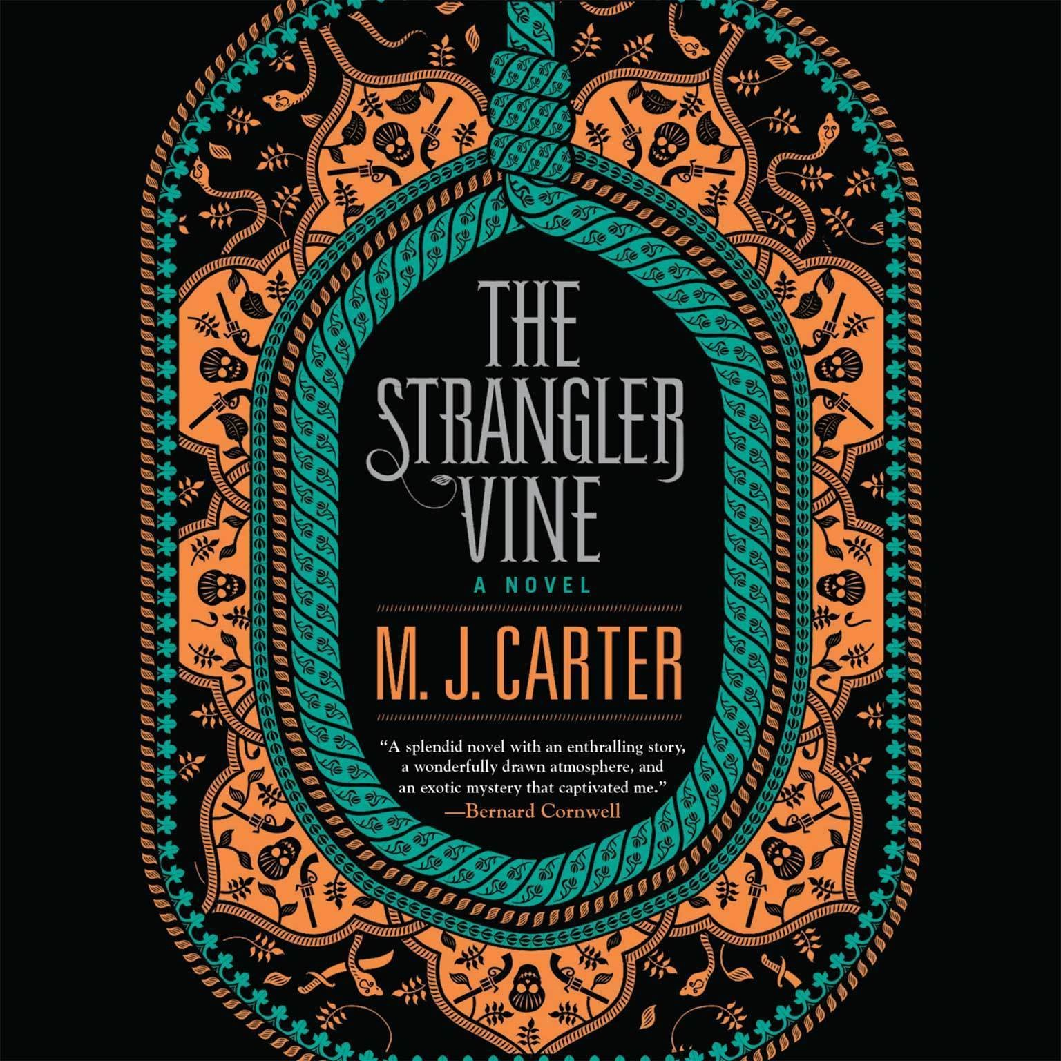 Printable The Strangler Vine: A Novel Audiobook Cover Art