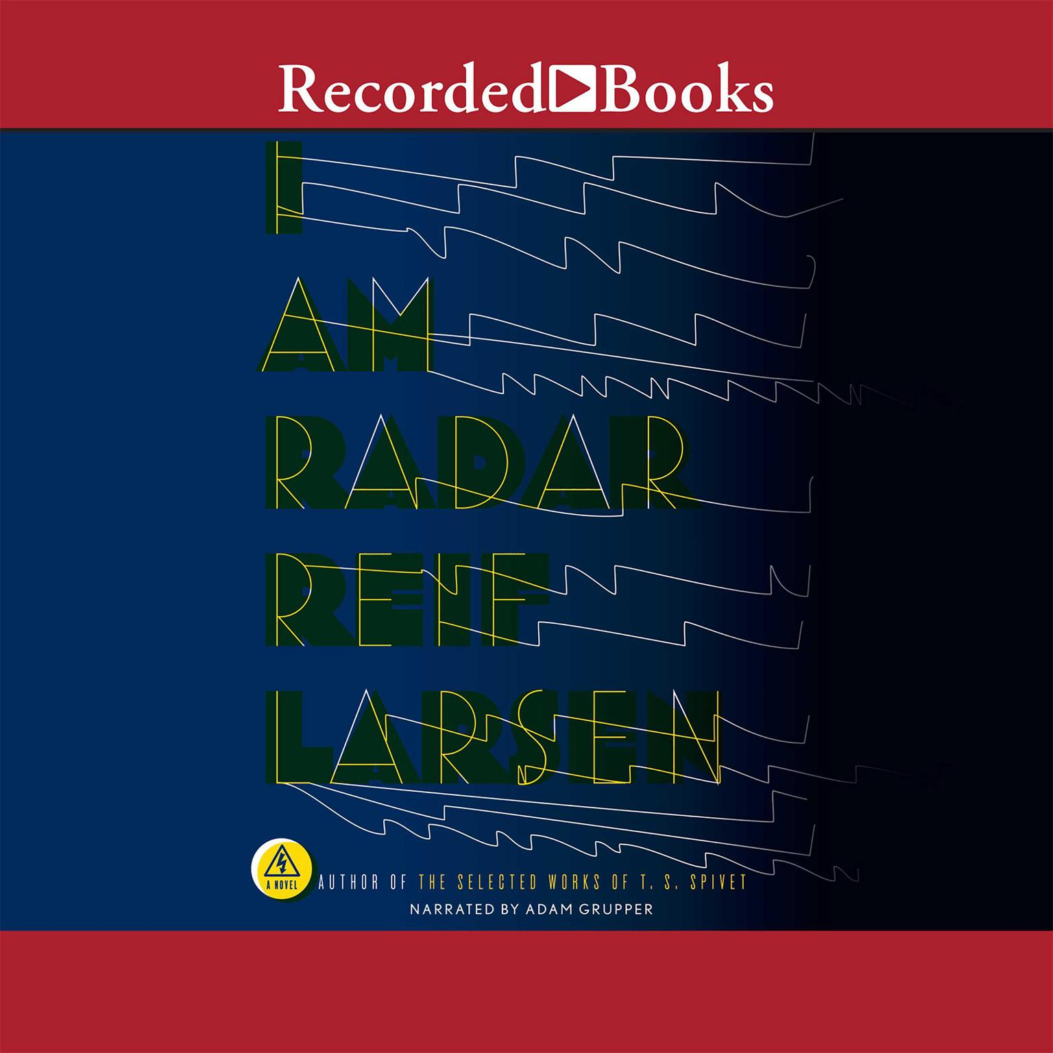 Printable I Am Radar Audiobook Cover Art