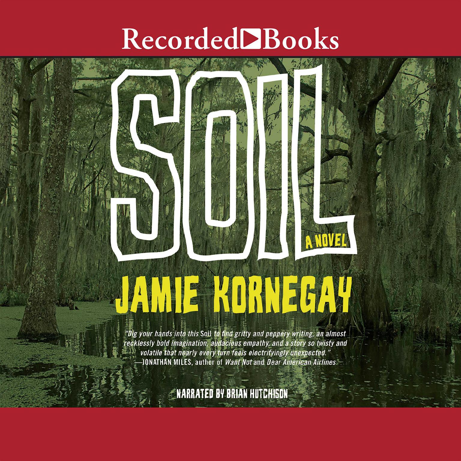 Printable Soil: A Novel Audiobook Cover Art