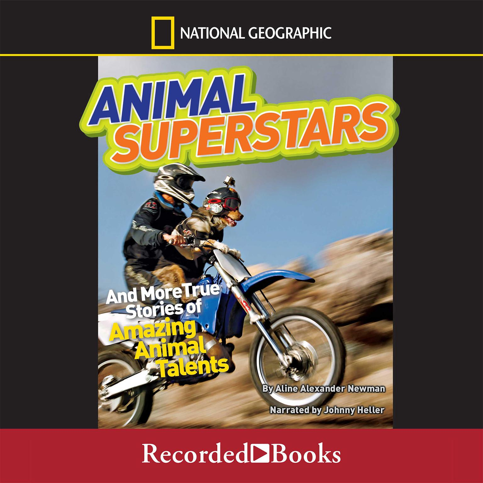 Printable Animal Superstars and More True Stories of Amazing Animal Talents Audiobook Cover Art