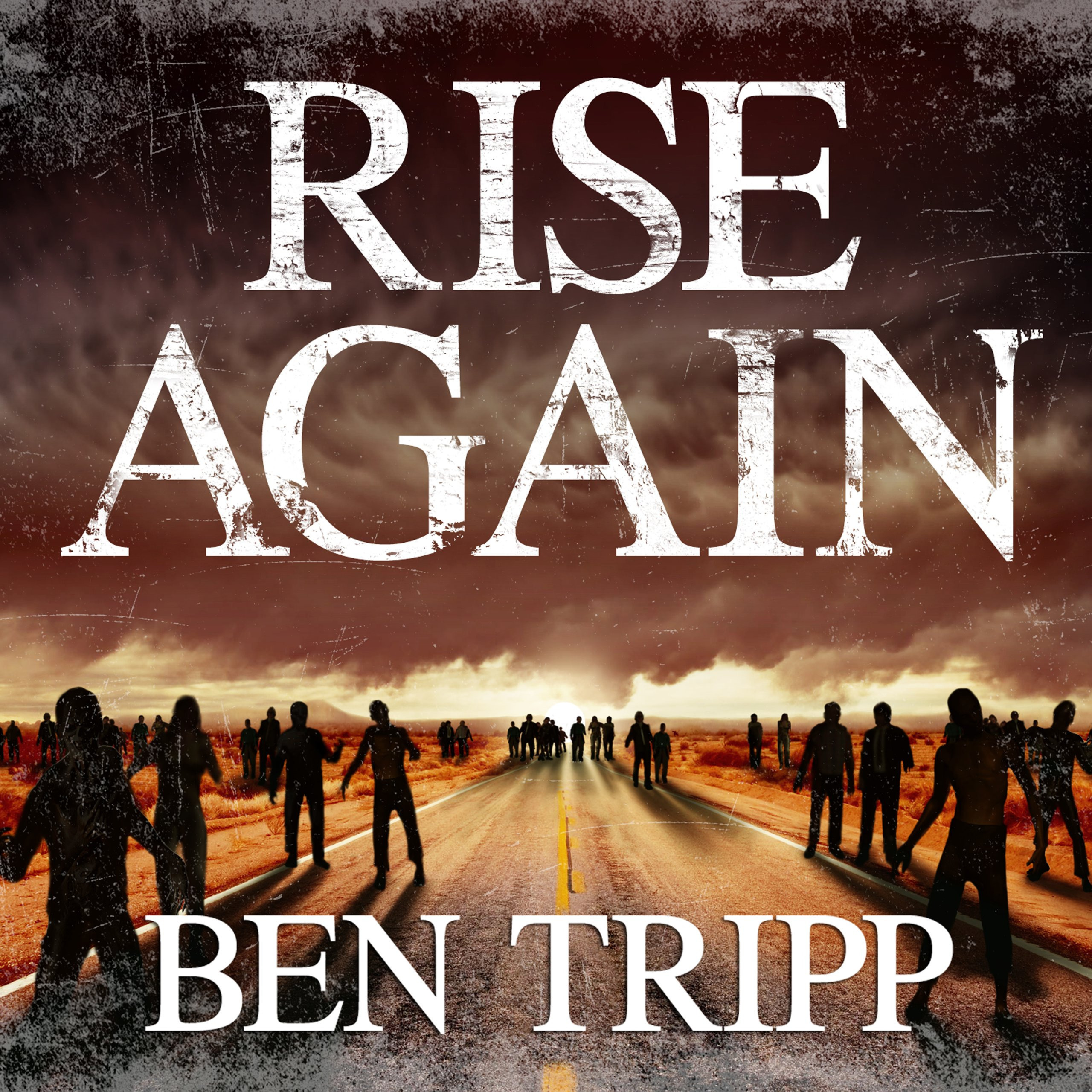 Printable Rise Again: A Zombie Thriller Audiobook Cover Art