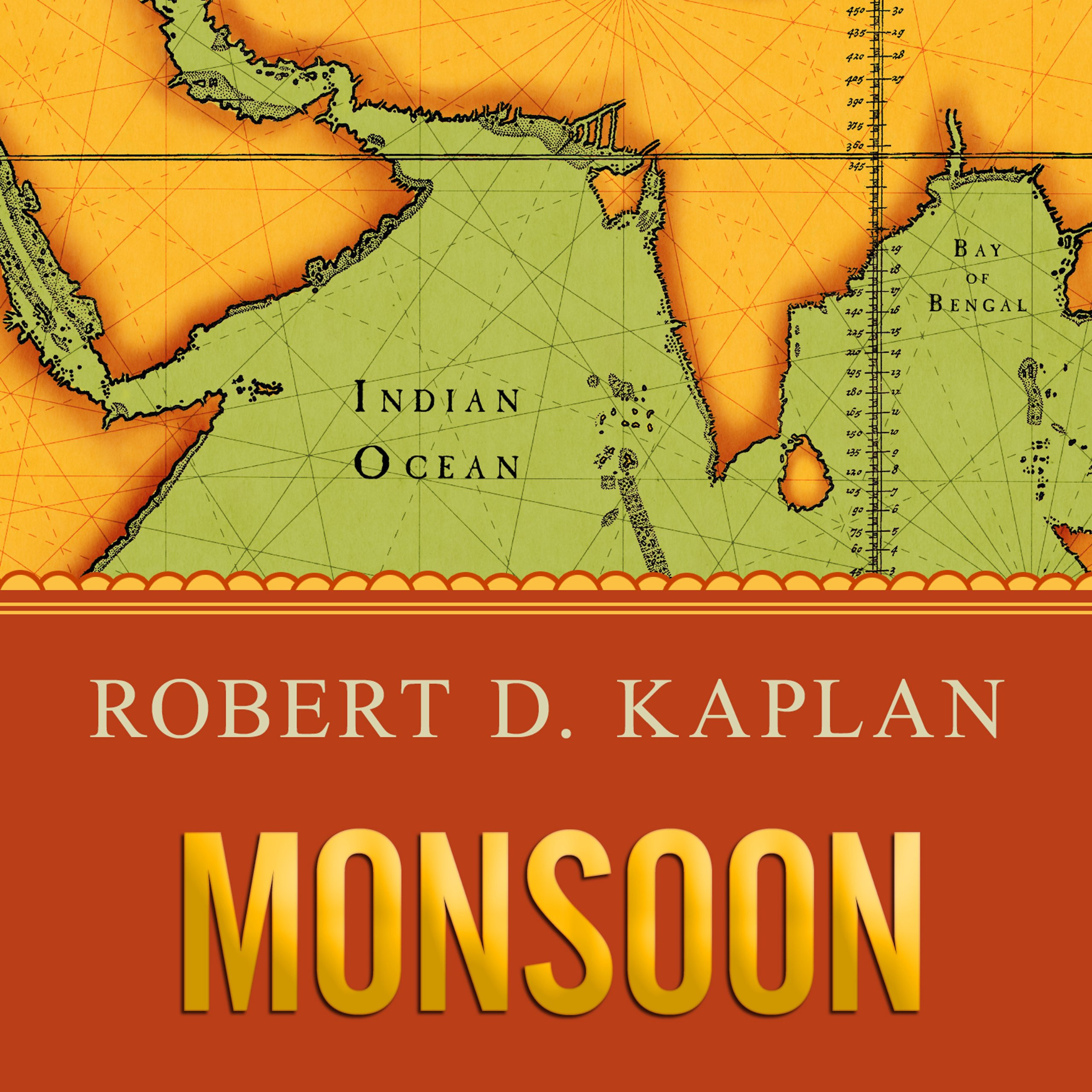 Printable Monsoon: The Indian Ocean and the Future of American Power Audiobook Cover Art