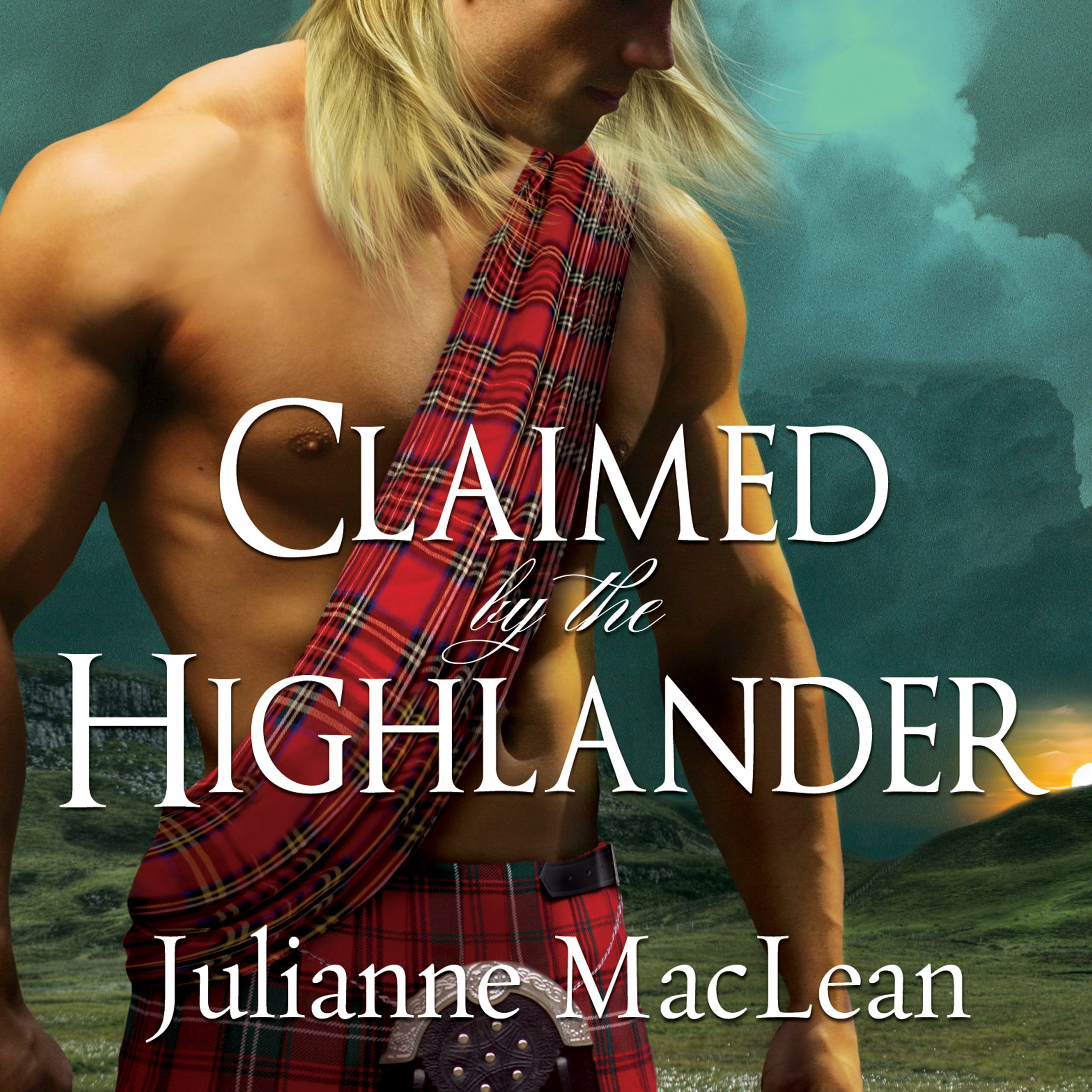 Printable Claimed by the Highlander Audiobook Cover Art