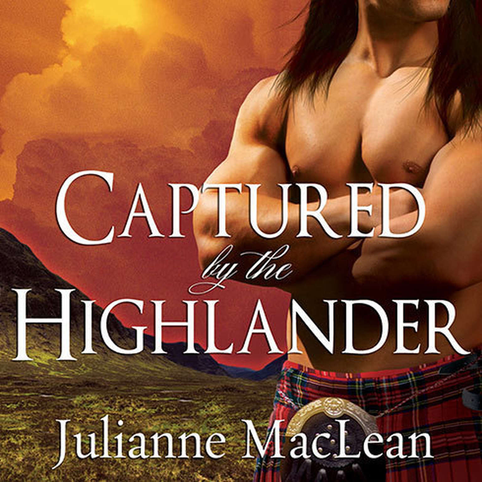 Printable Captured by the Highlander Audiobook Cover Art