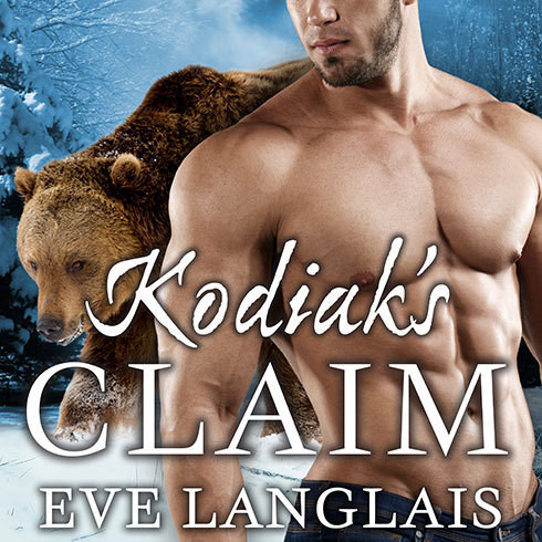 Printable Kodiak's Claim Audiobook Cover Art