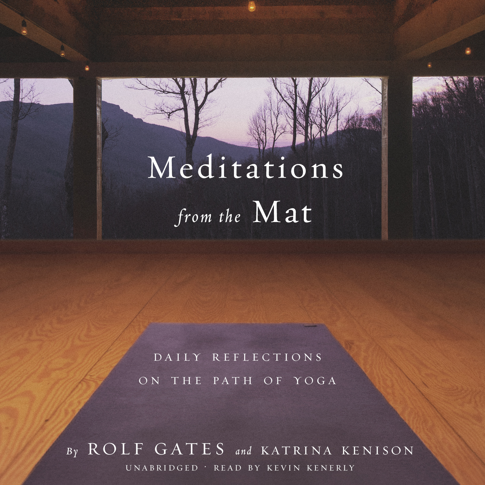 Printable Meditations from the Mat: Daily Reflections on the Path of Yoga Audiobook Cover Art