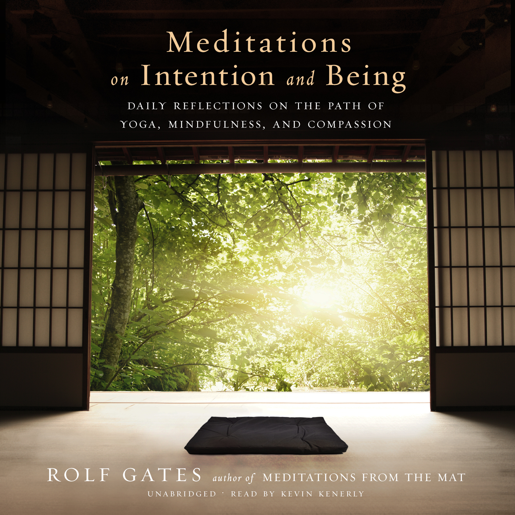 Printable Meditations on Intention and Being: Daily Reflections on the Path of Yoga, Mindfulness, and Compassion Audiobook Cover Art