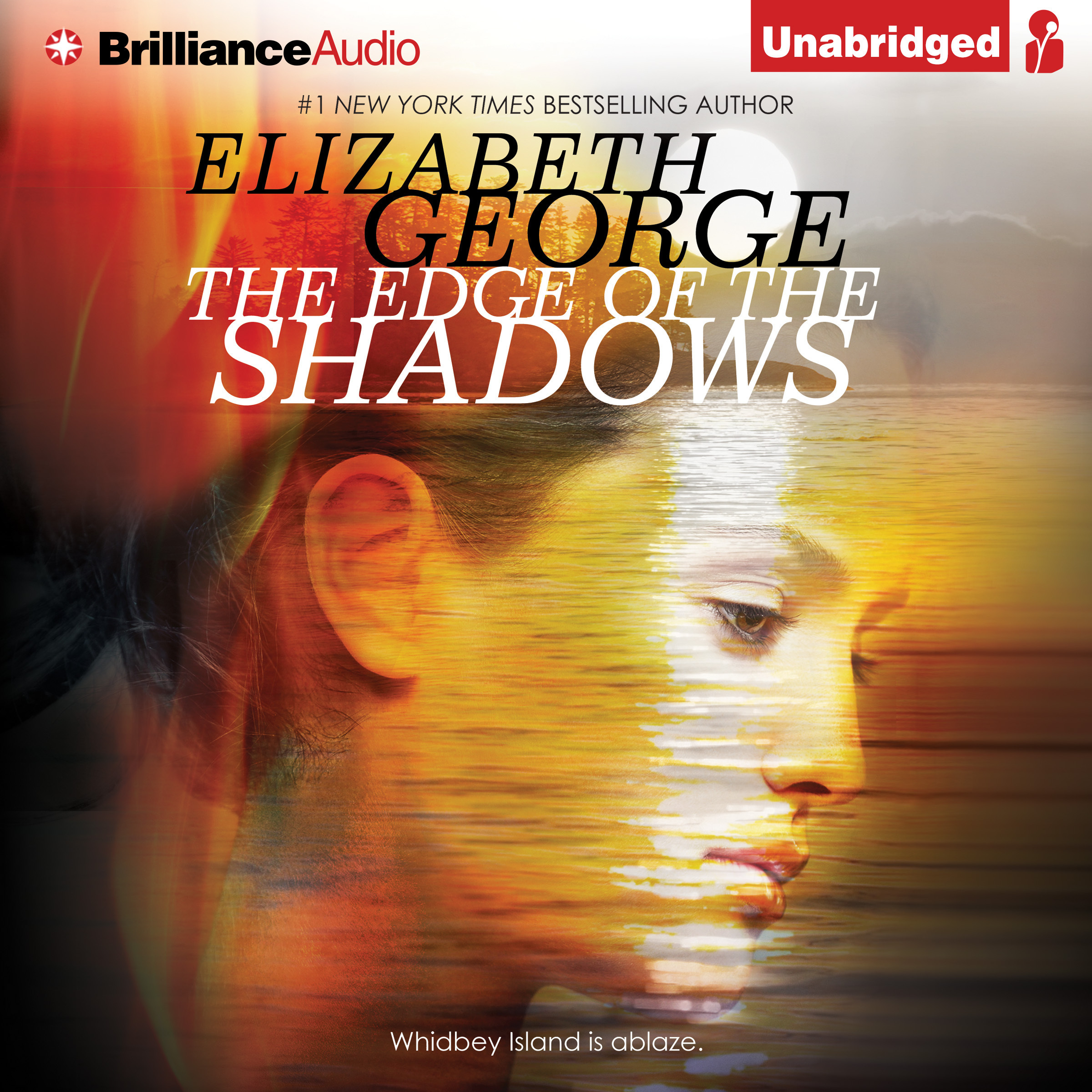 Printable The Edge of the Shadows Audiobook Cover Art