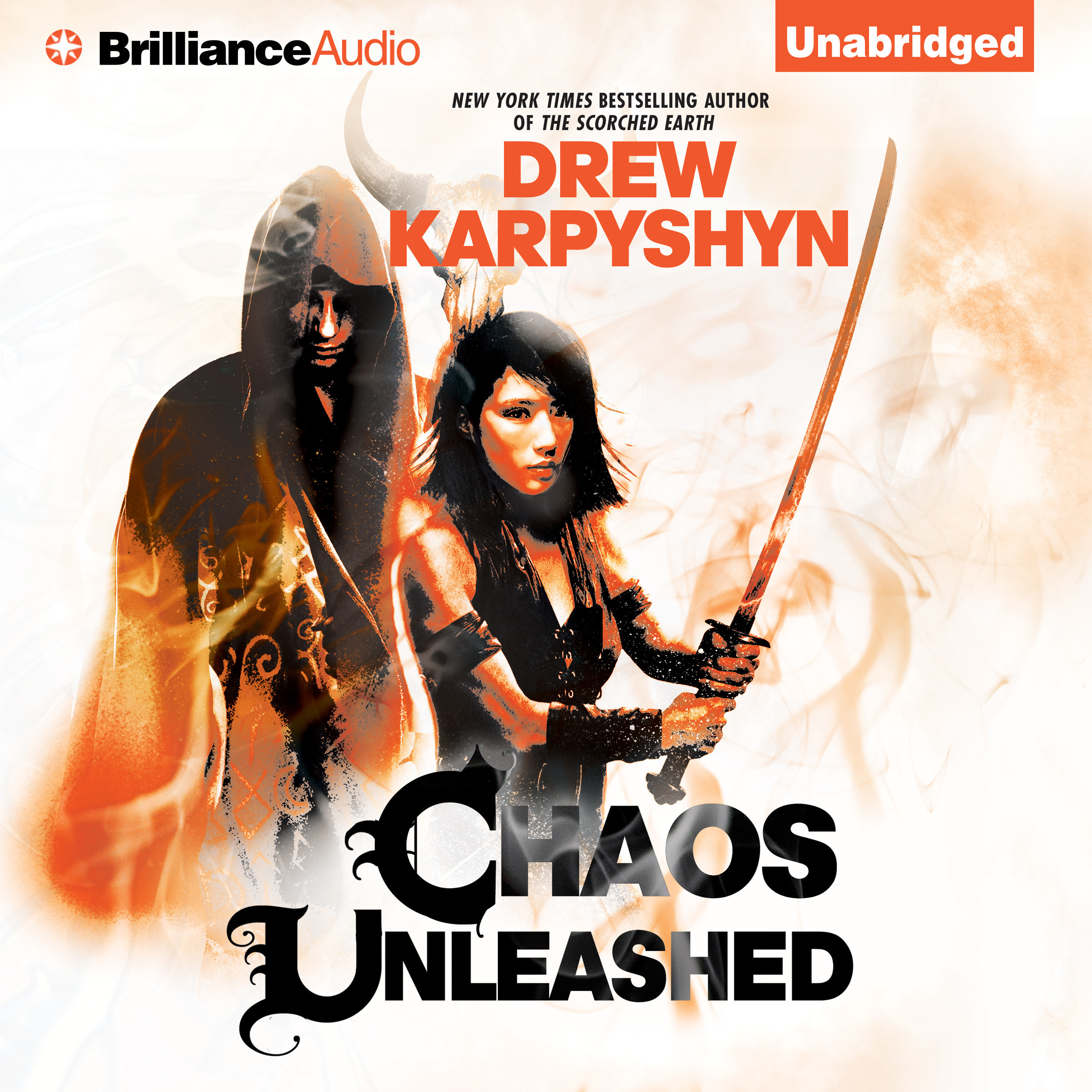 Printable Chaos Unleashed Audiobook Cover Art