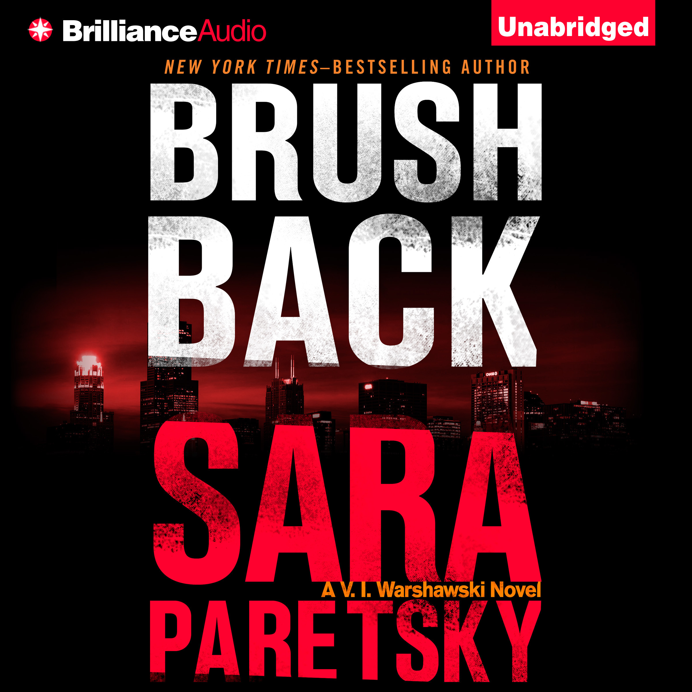 Printable Brush Back Audiobook Cover Art
