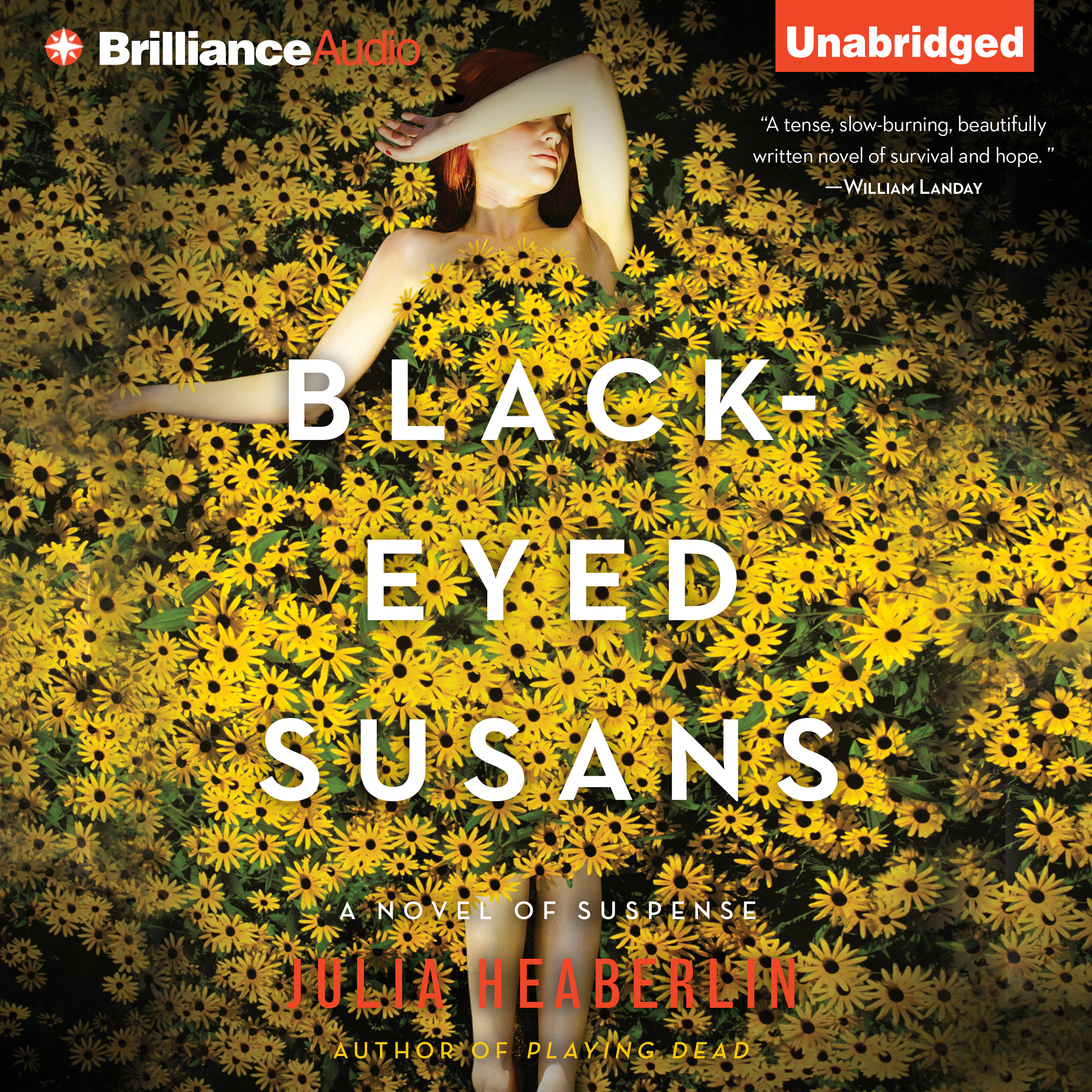Printable Black-Eyed Susans: A Novel of Suspense Audiobook Cover Art