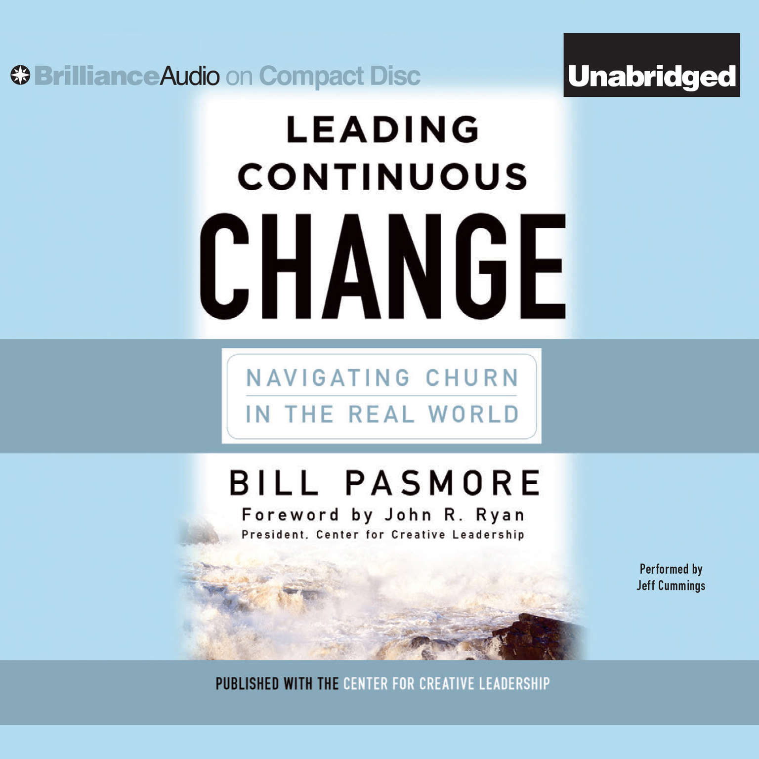 Printable Leading Continuous Change: Navigating Churn in the Real World Audiobook Cover Art