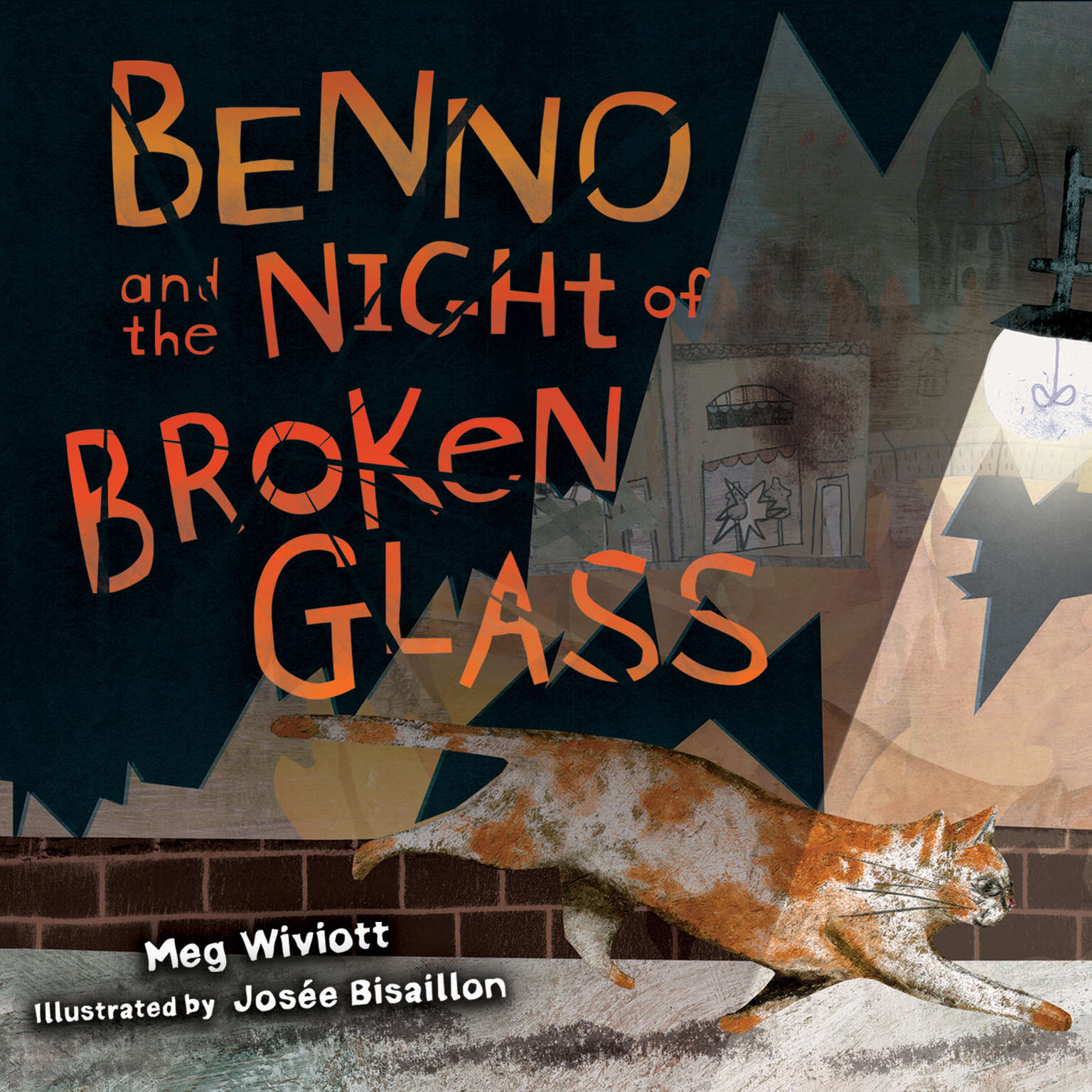Printable Benno and the Night of Broken Glass Audiobook Cover Art