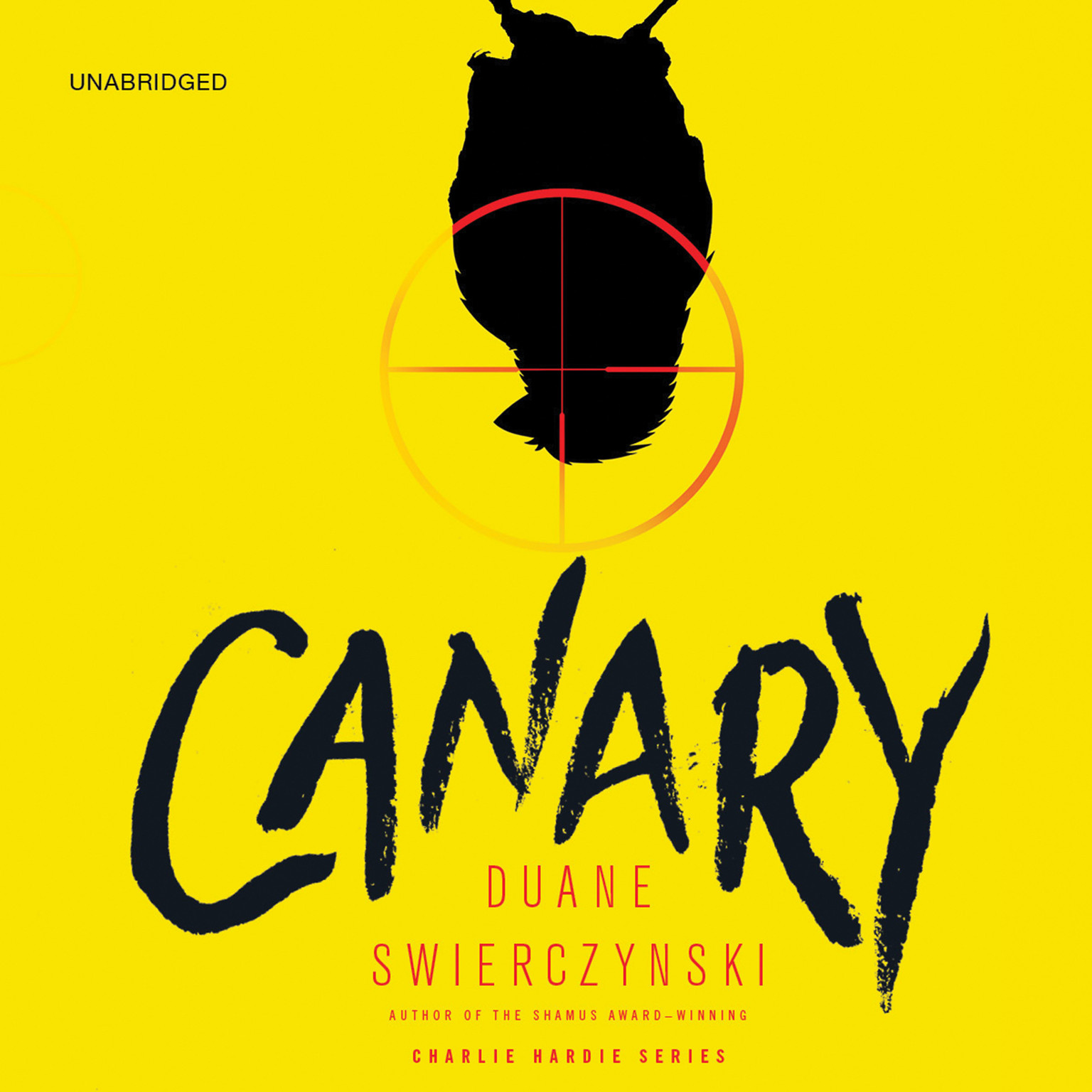 Printable Canary Audiobook Cover Art