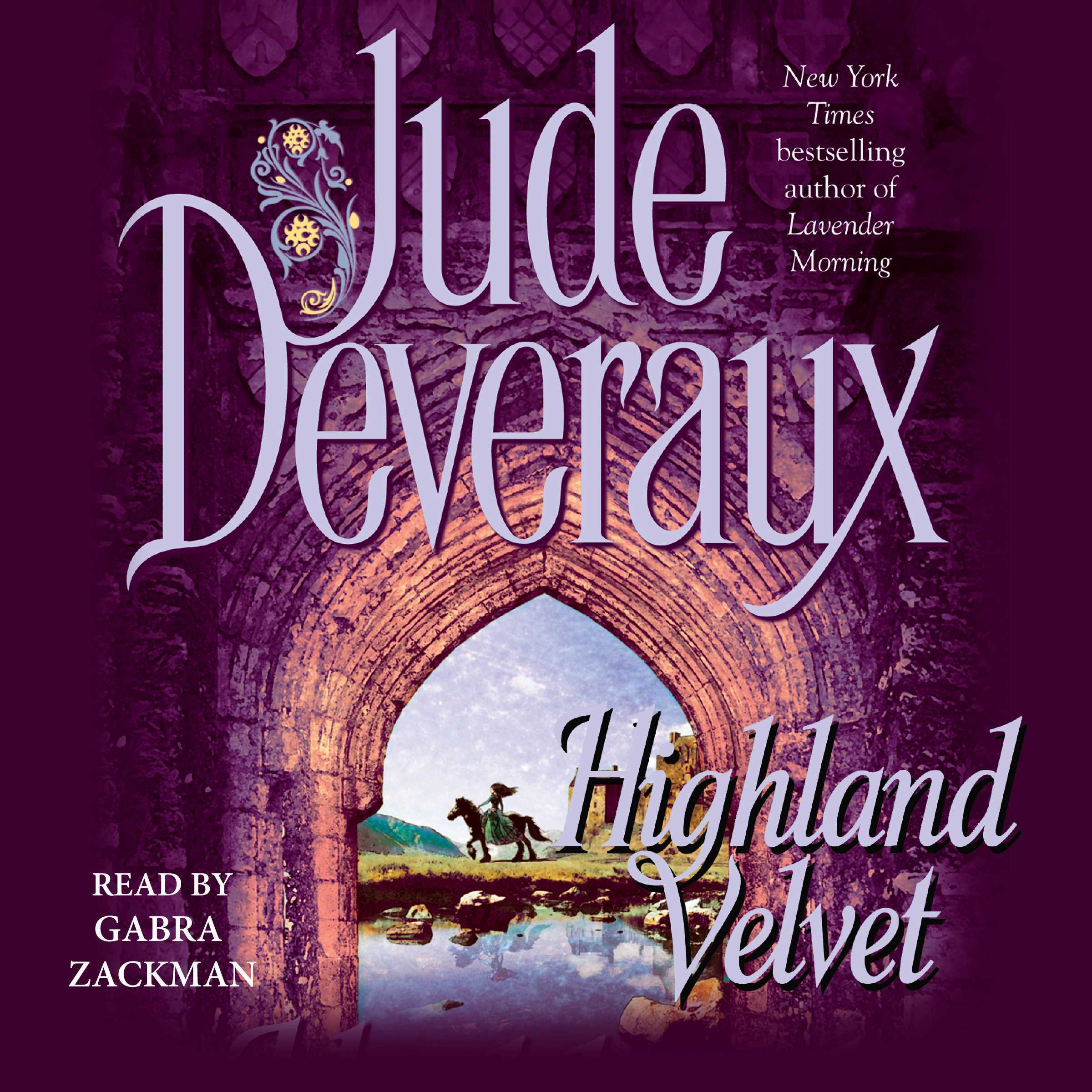 Printable Highland Velvet Audiobook Cover Art