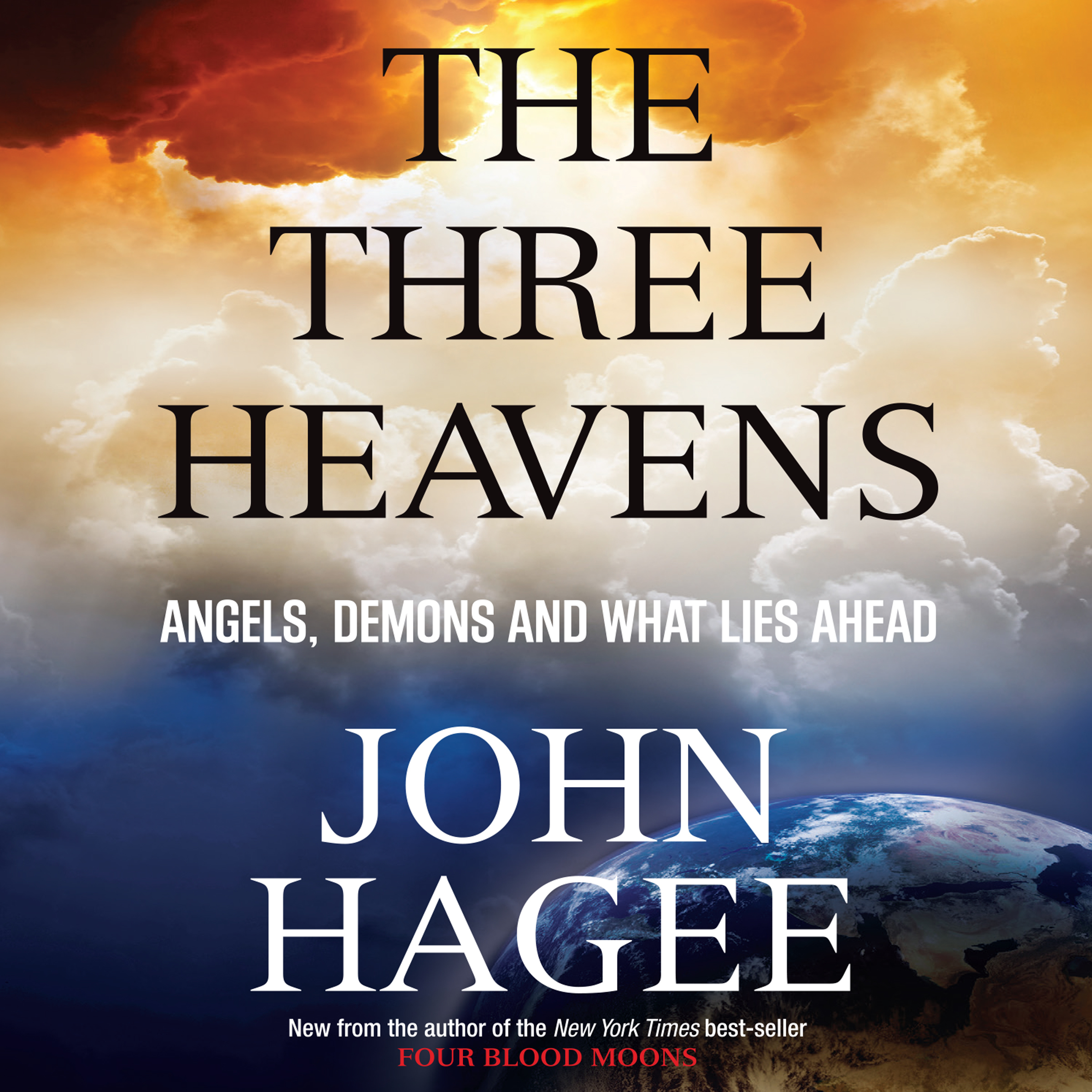 Printable The Three Heavens: Angels, Demons and What Lies Ahead Audiobook Cover Art