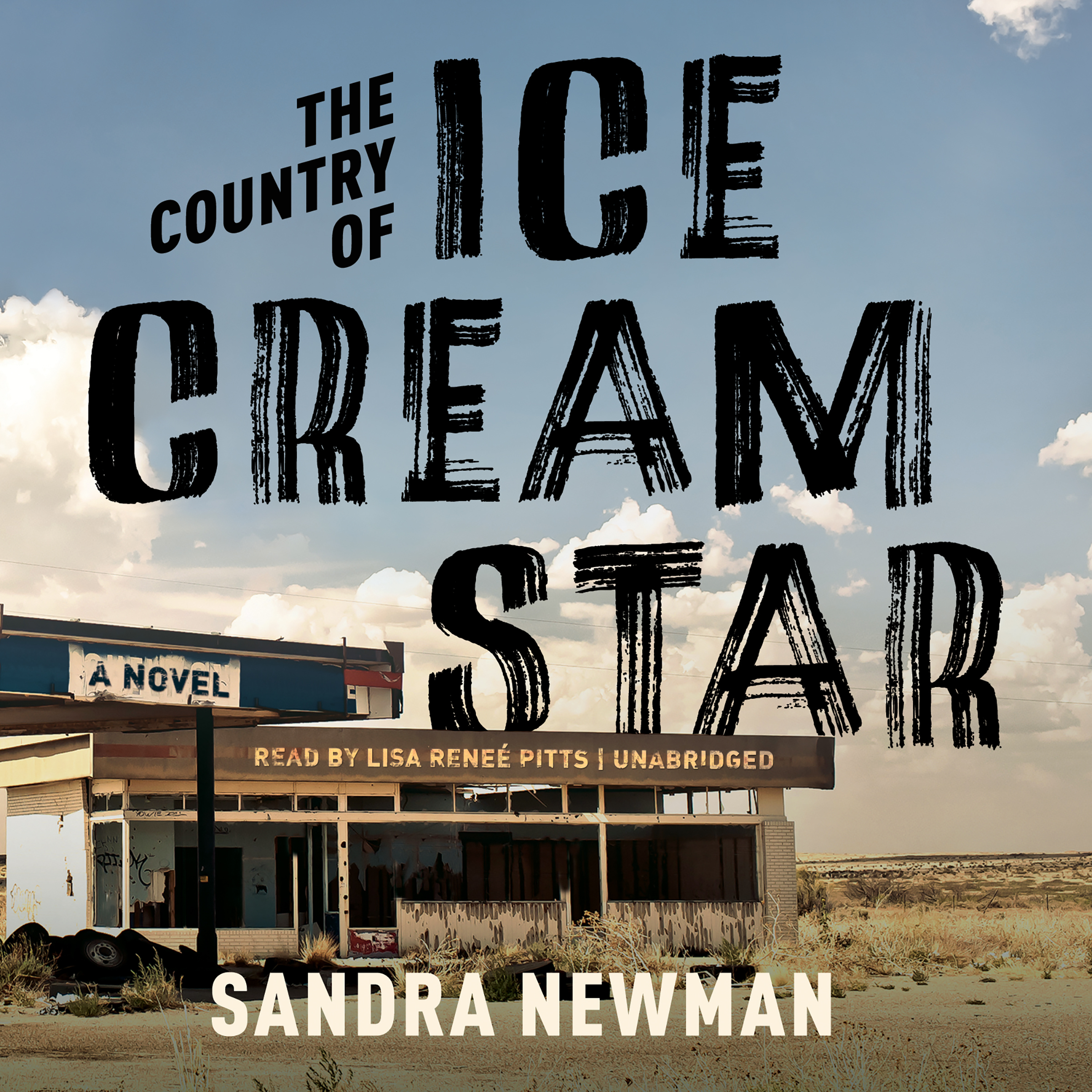 Printable The Country of Ice Cream Star Audiobook Cover Art