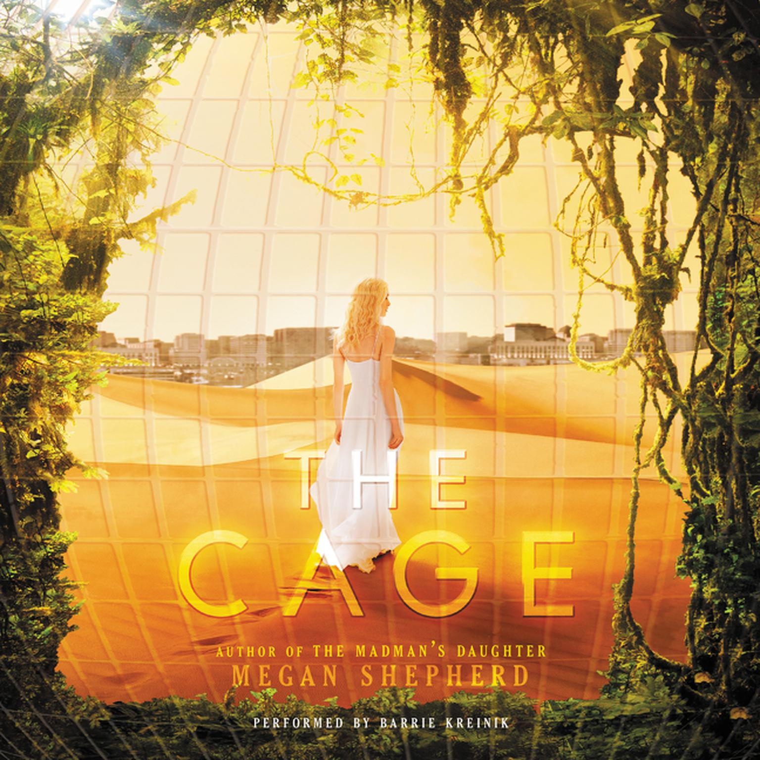Printable The Cage Audiobook Cover Art