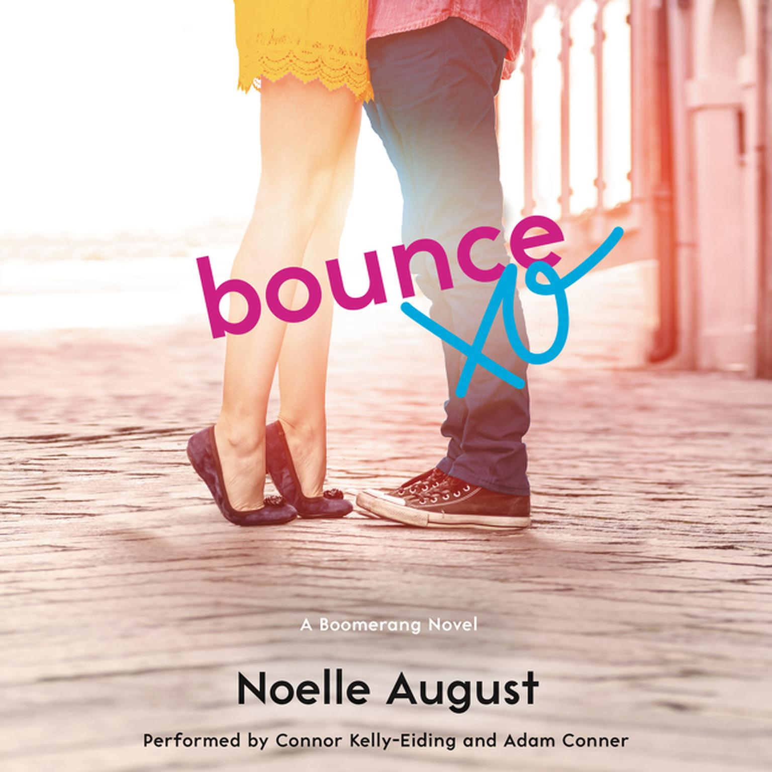 Printable Bounce: A Boomerang Novel Audiobook Cover Art