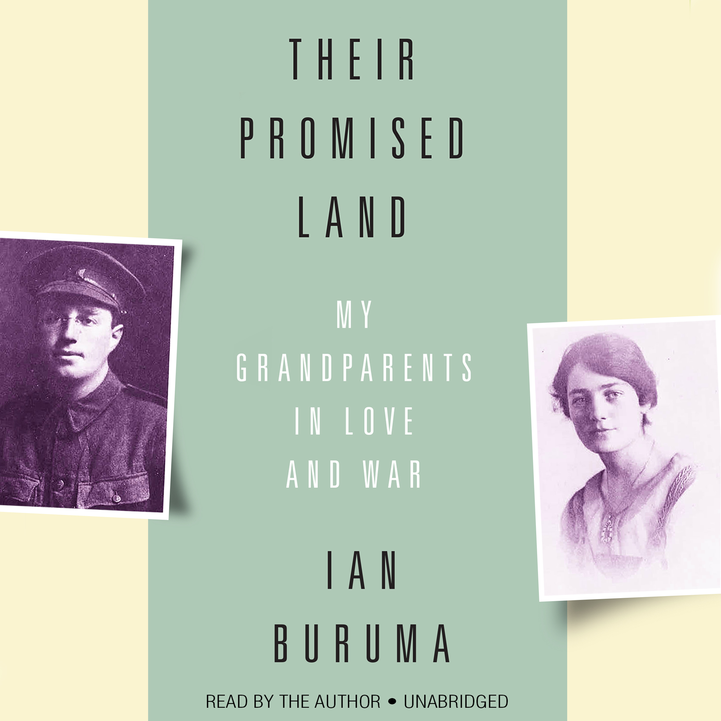 Printable Their Promised Land: My Grandparents in Love and War Audiobook Cover Art