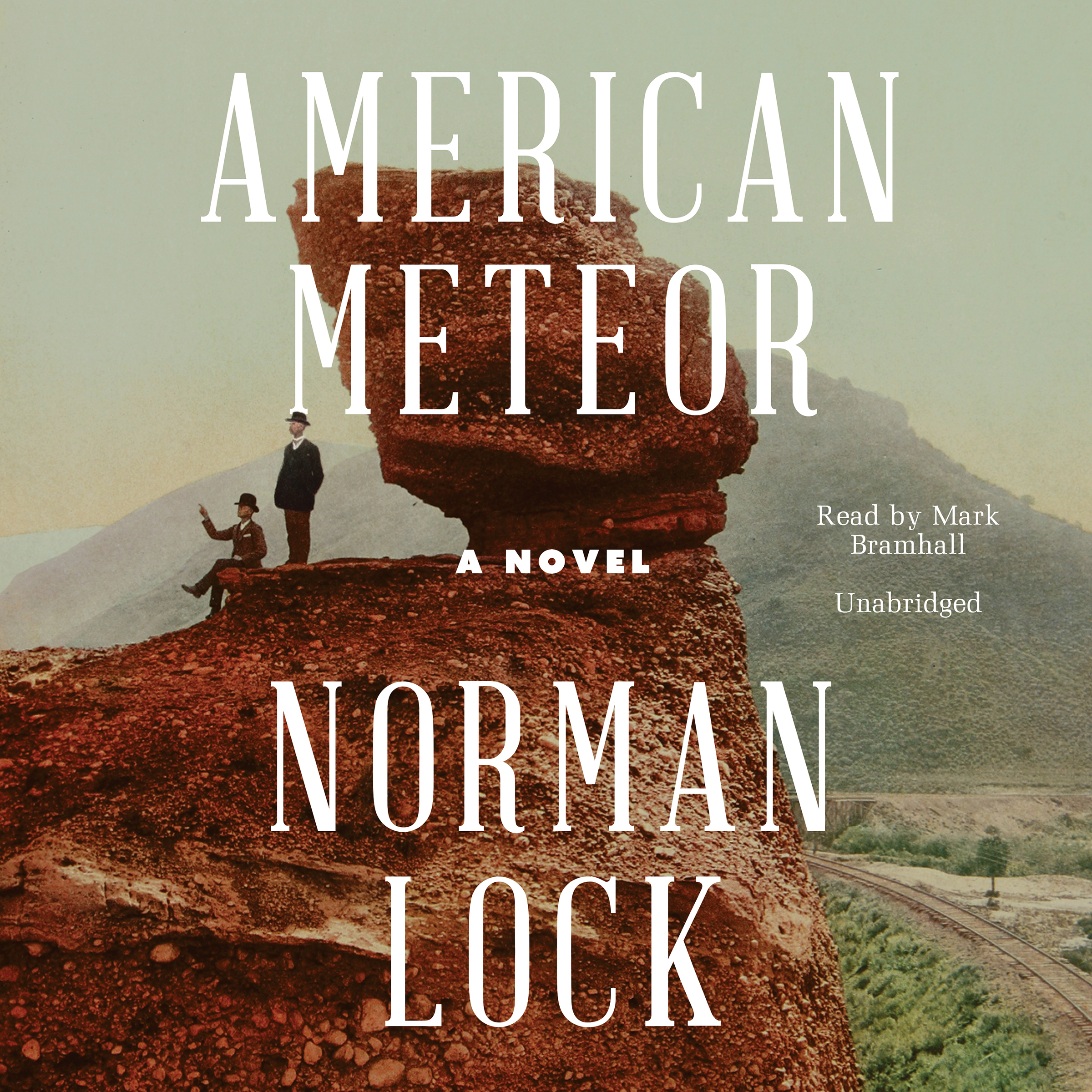 Printable American Meteor Audiobook Cover Art