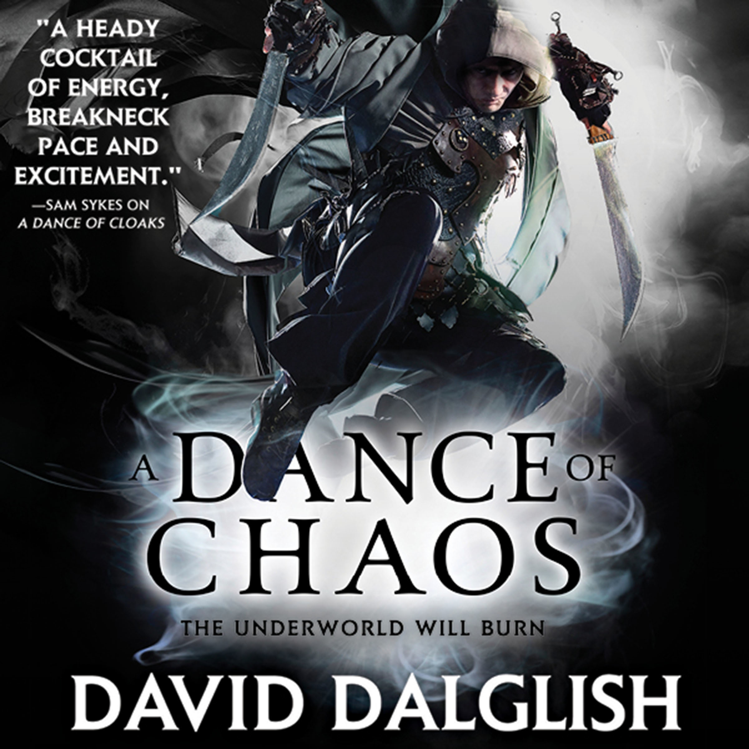 Printable A Dance of Chaos Audiobook Cover Art