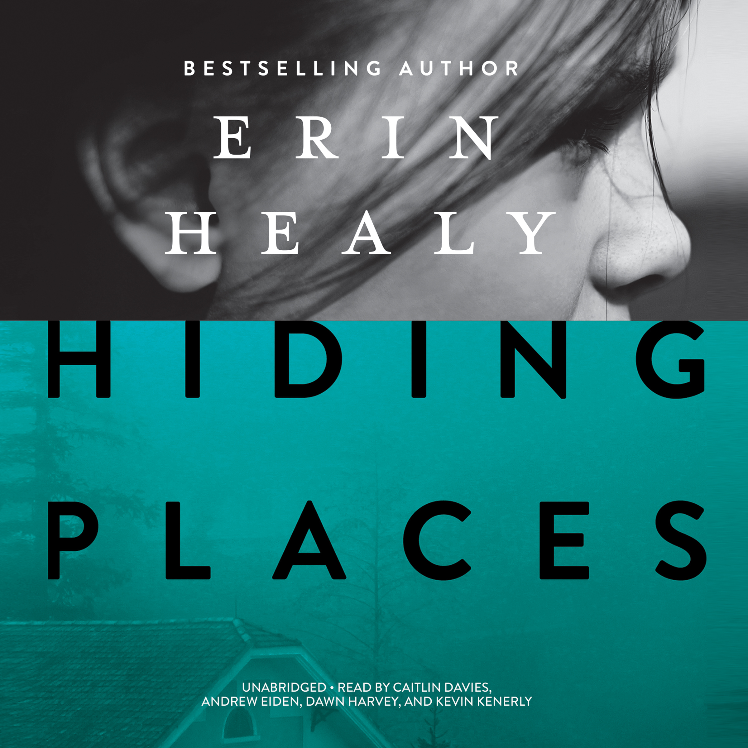 Printable Hiding Places Audiobook Cover Art