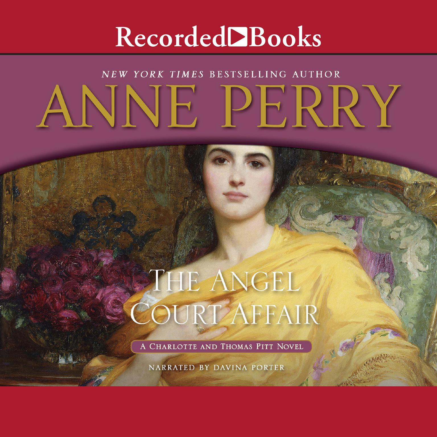 Printable The Angel Court Affair Audiobook Cover Art