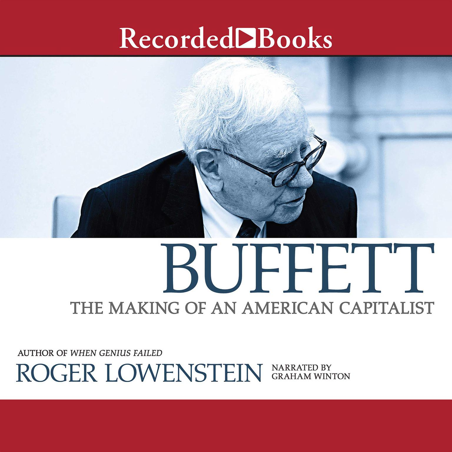 Printable Buffett: The Making of an American Capitalist Audiobook Cover Art