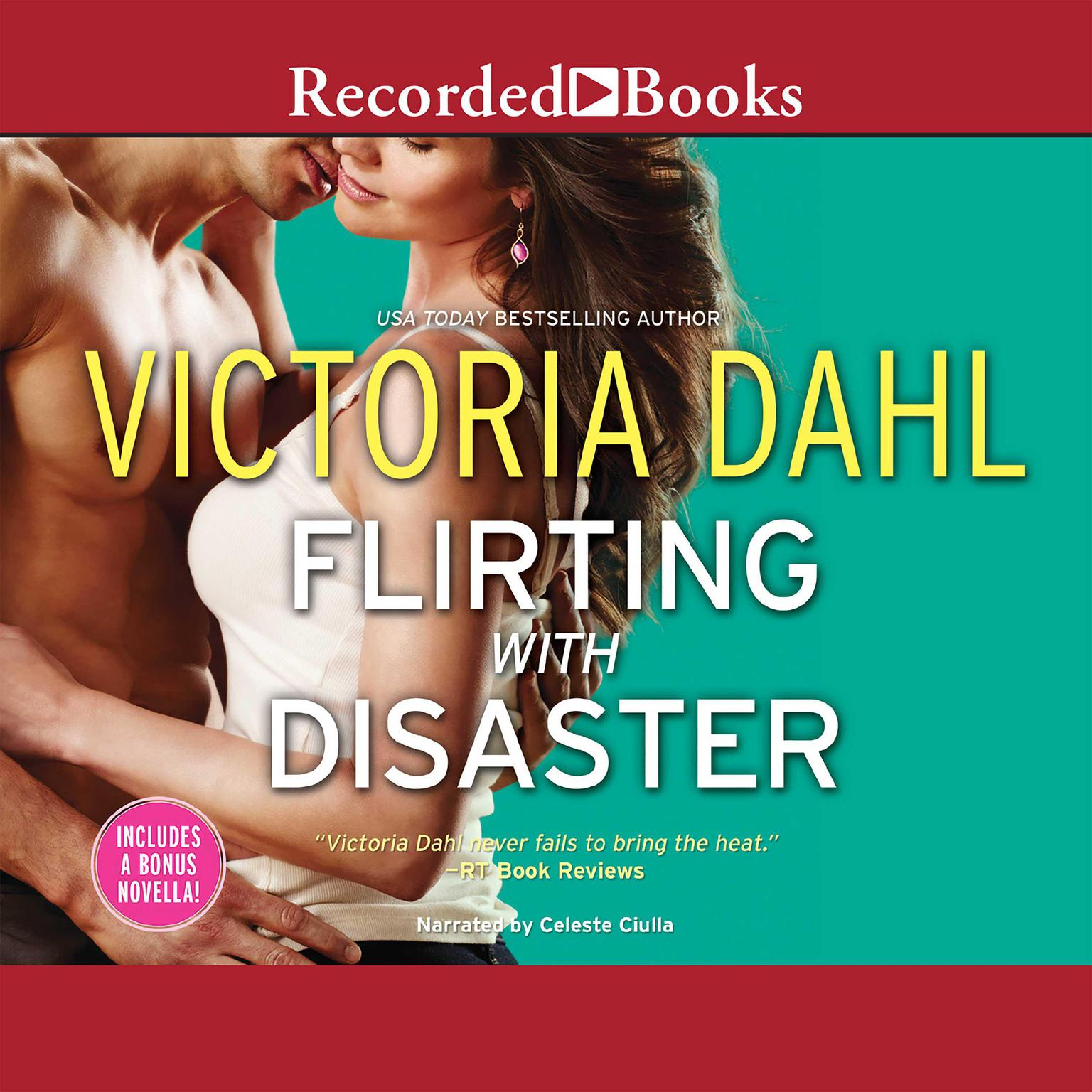Printable Flirting with Disaster Audiobook Cover Art