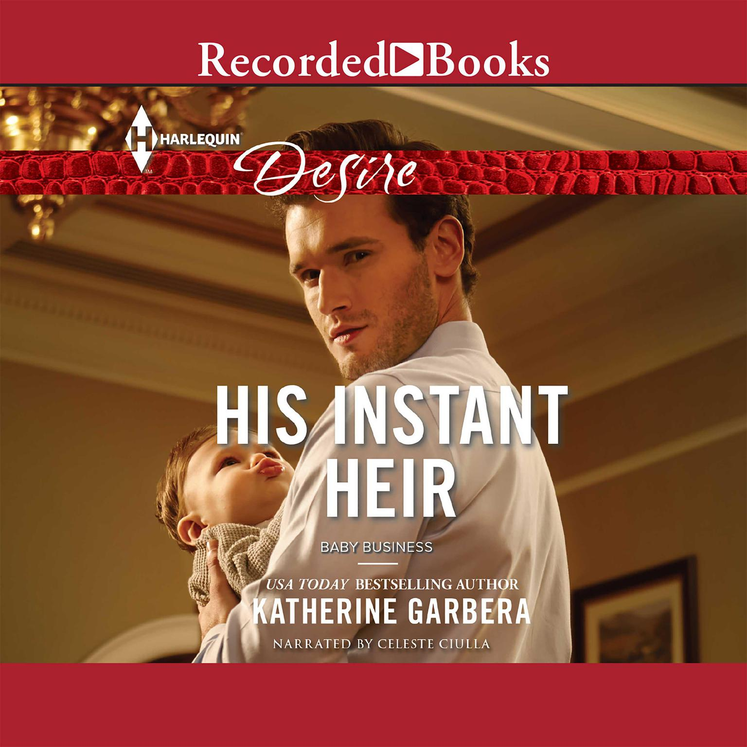 Printable His Instant Heir Audiobook Cover Art