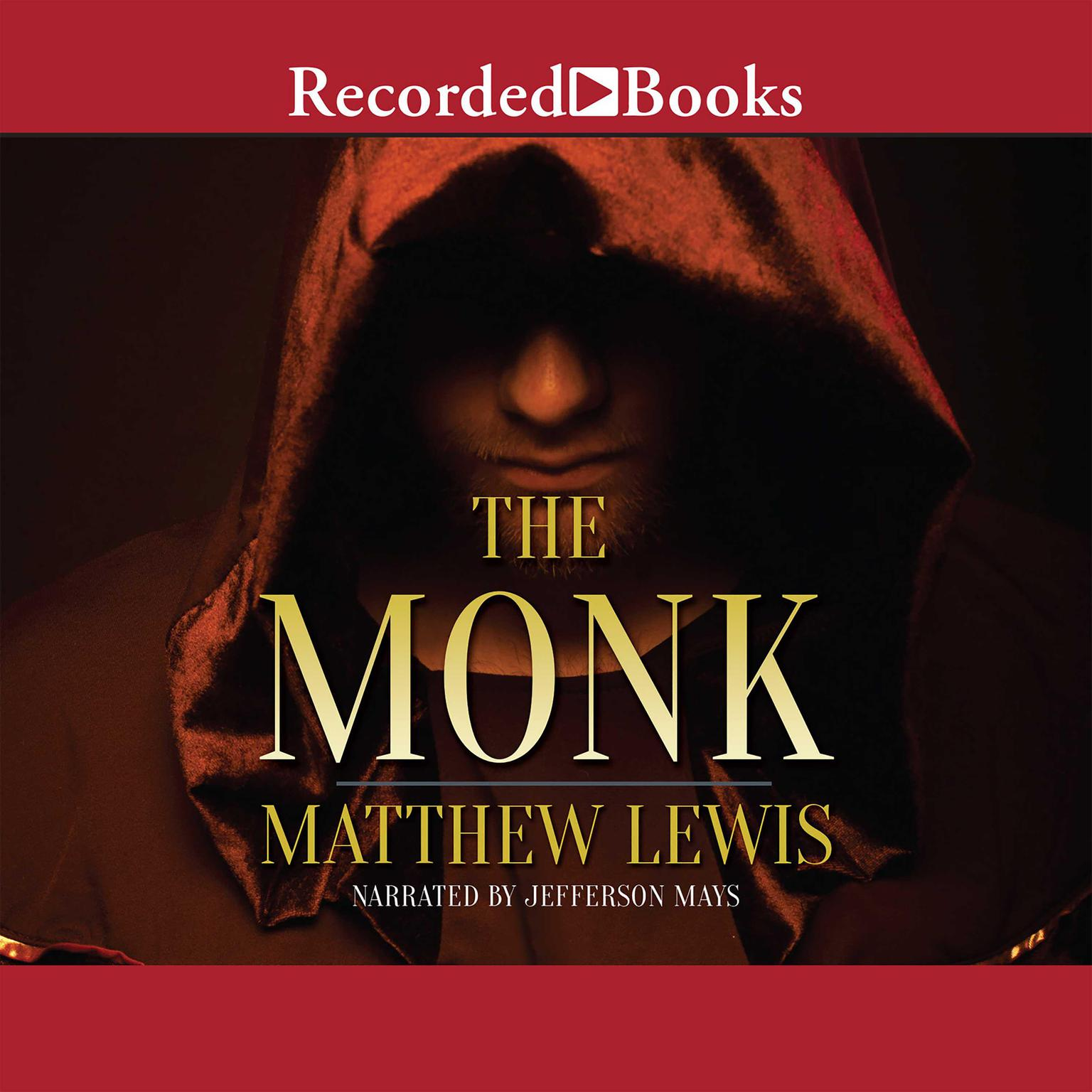 Printable The Monk Audiobook Cover Art